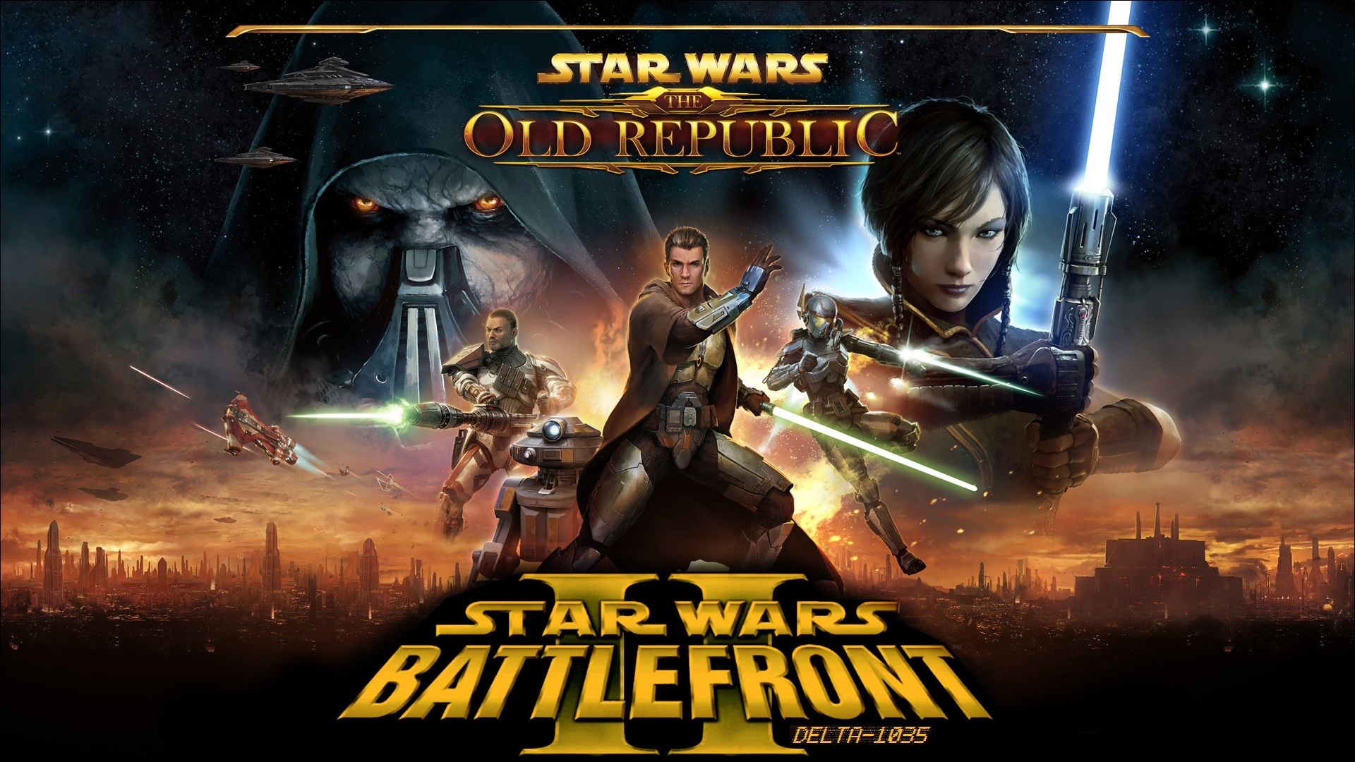 The Old Republic REMASTERED mod for Star Wars Battlefront II
