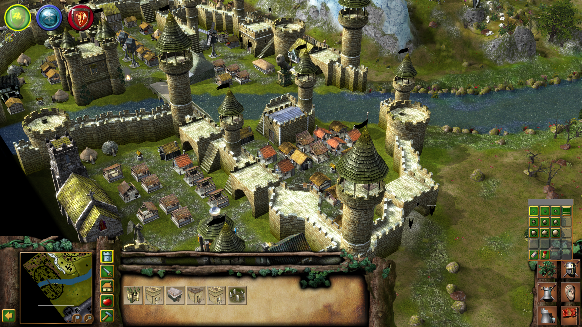 Fortresses image - Stronghold Legends Middleearth mod for ...