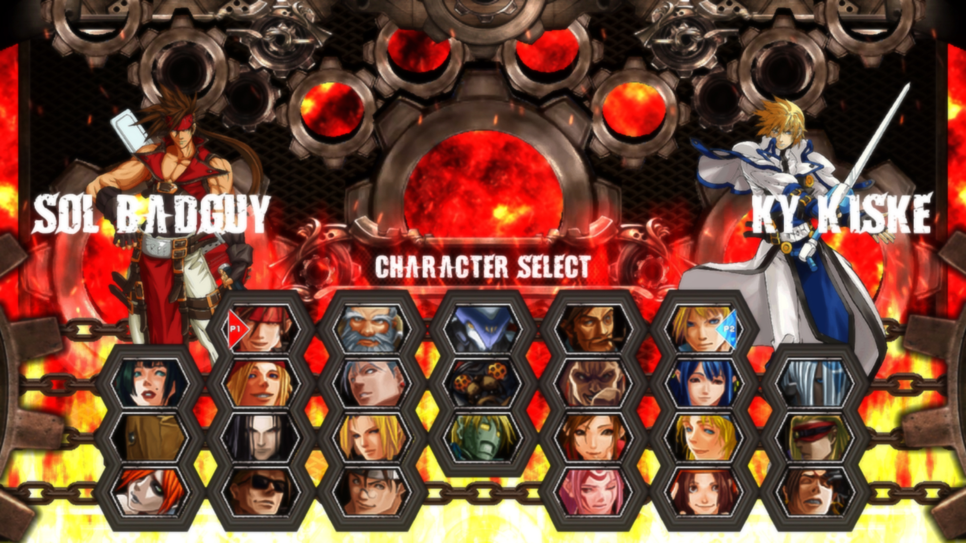 Guilty Gear XX Bloodshed Type OD+ mod for mugen - Mod DB