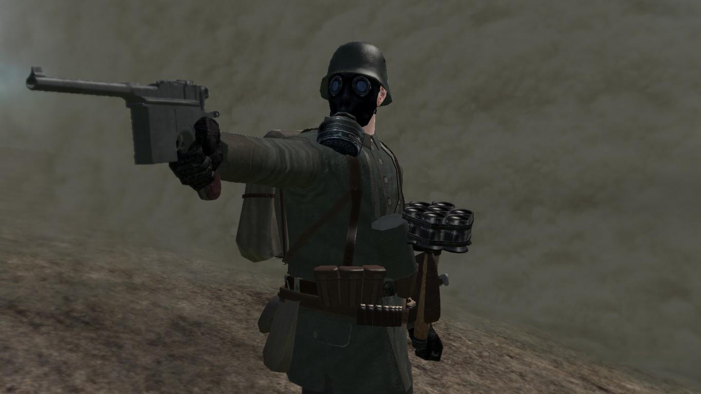 [SP][ES] Parabellum Mauser_C96_Pistol