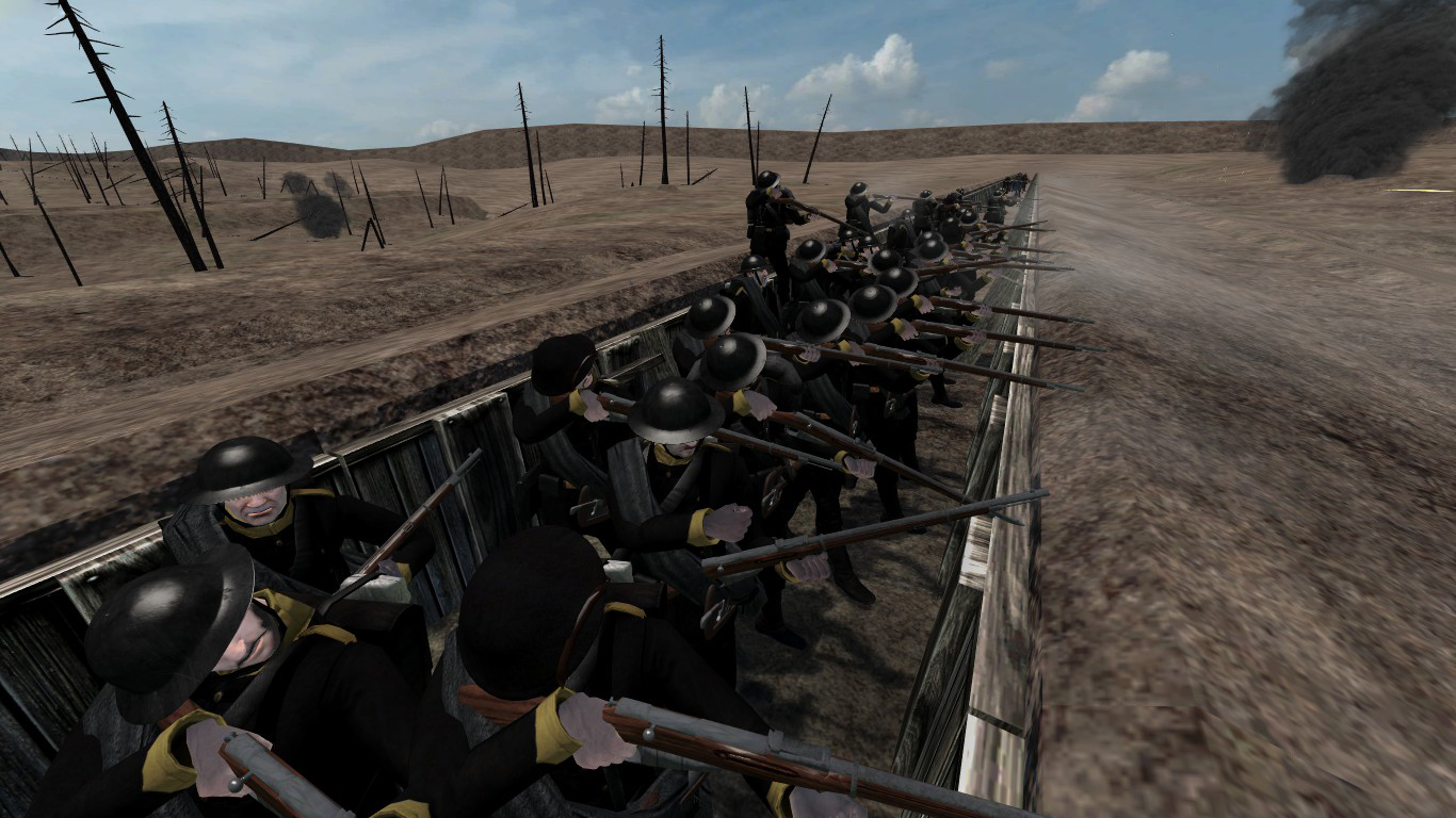 [SP][ES] Parabellum Rhodok_troops_defending.1