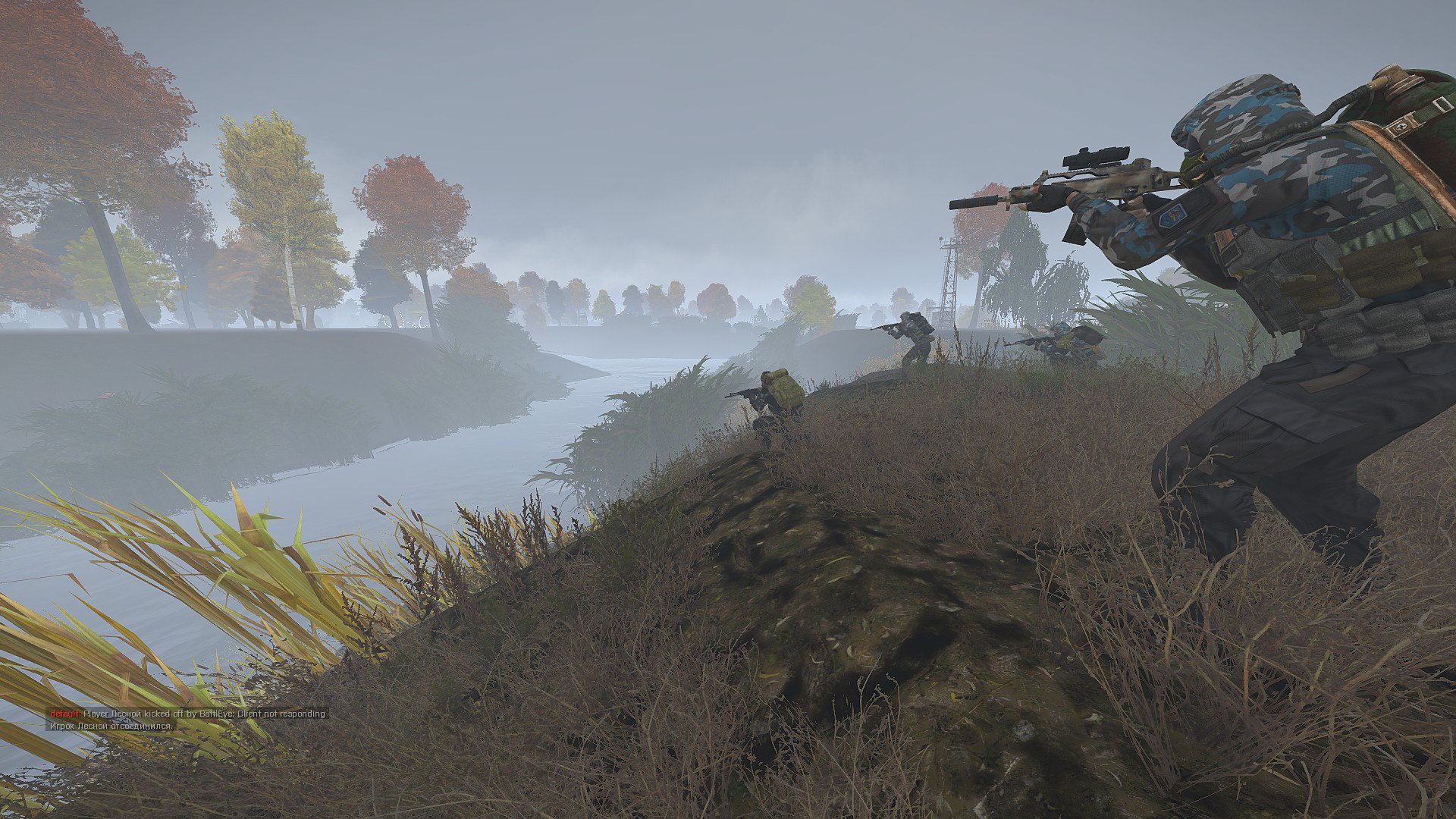 Clear Sky in the Swamps image - ArmStalker Online mod for ARMA 3