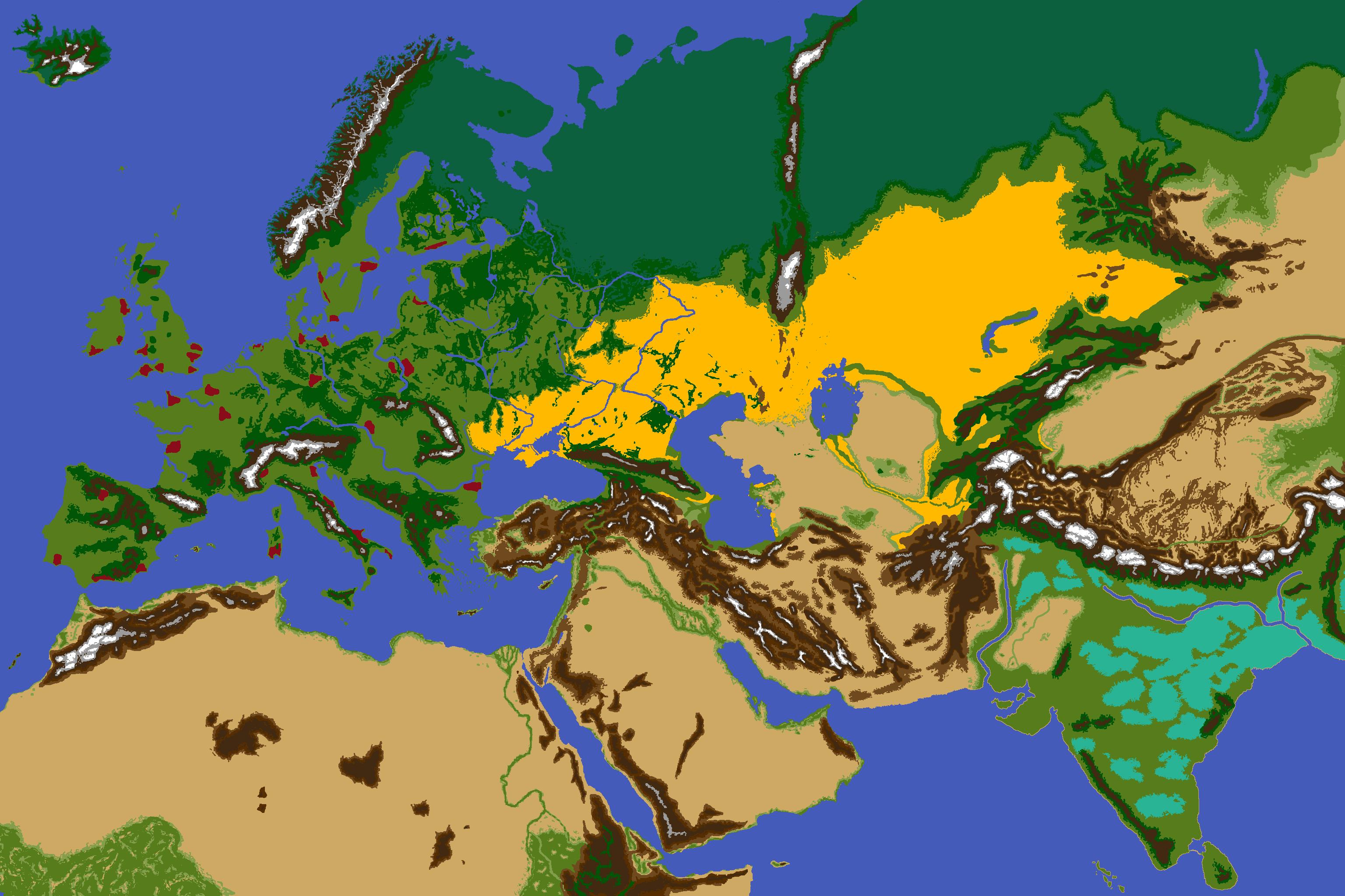Eu4 Terrain Map – HD Wallpapers
