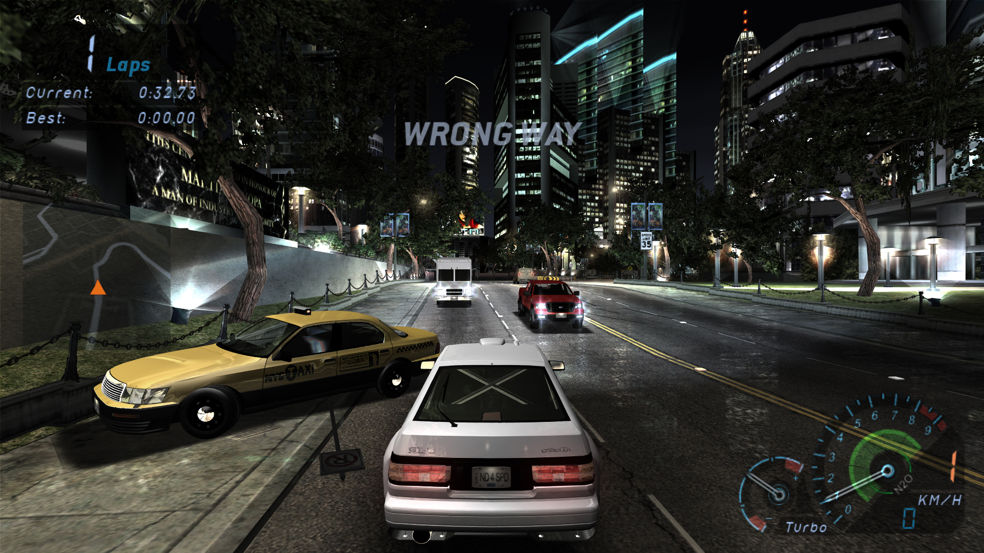 New traffic models image - mSE (m2011 v2 0) mod for Need For