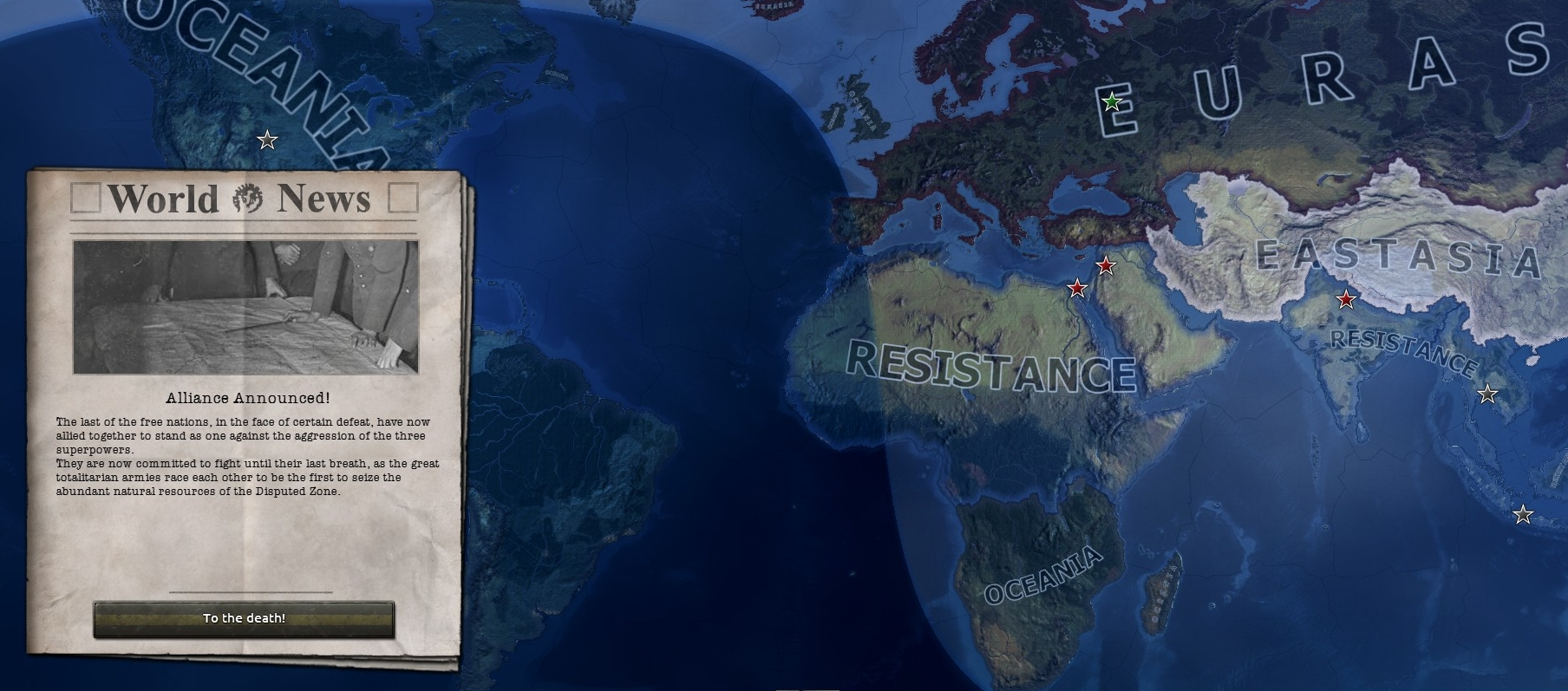 The Resistance Forms image - Hearts of Iron: 1984 mod for Hearts of