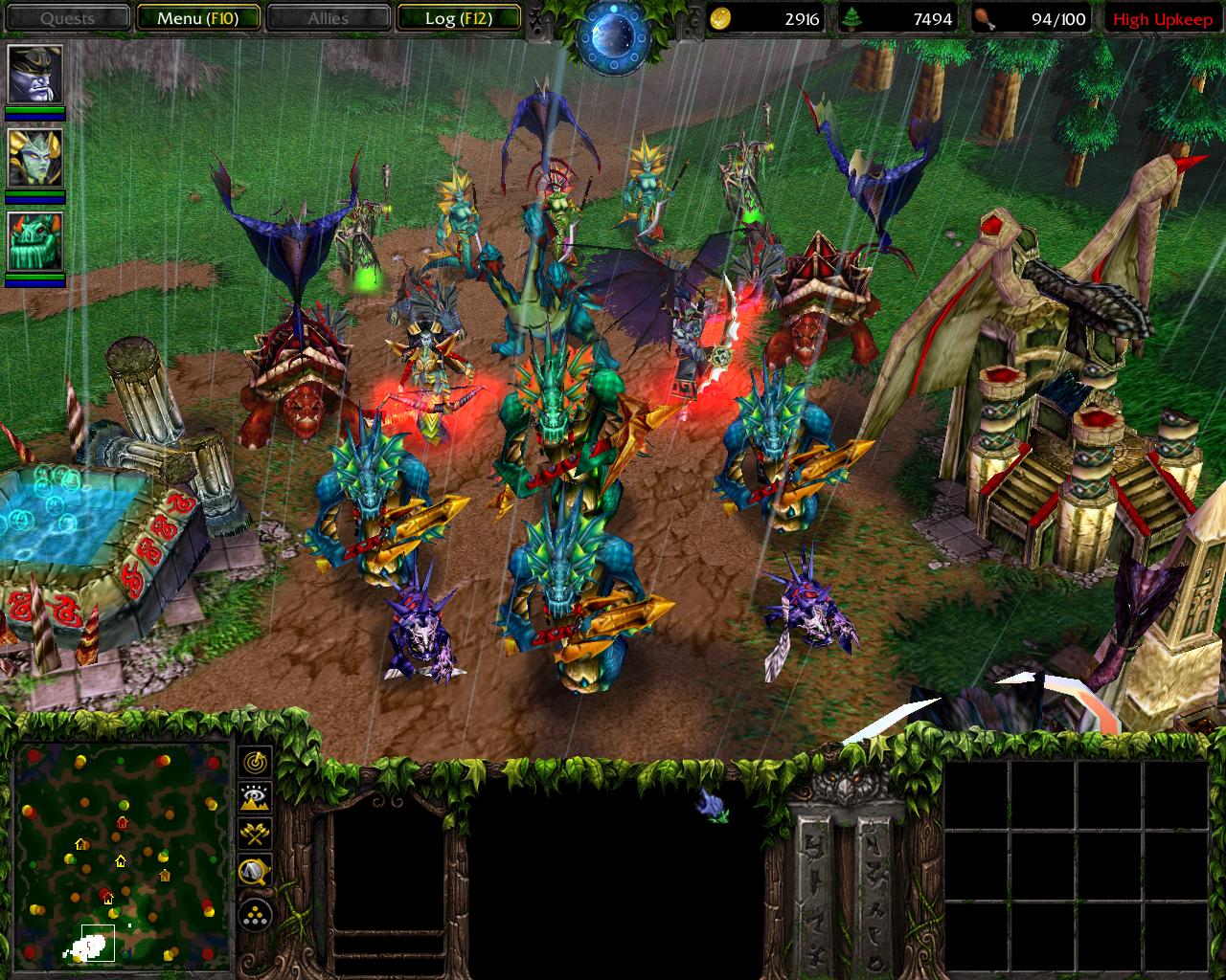Warcraft Cool Naga Armor Art