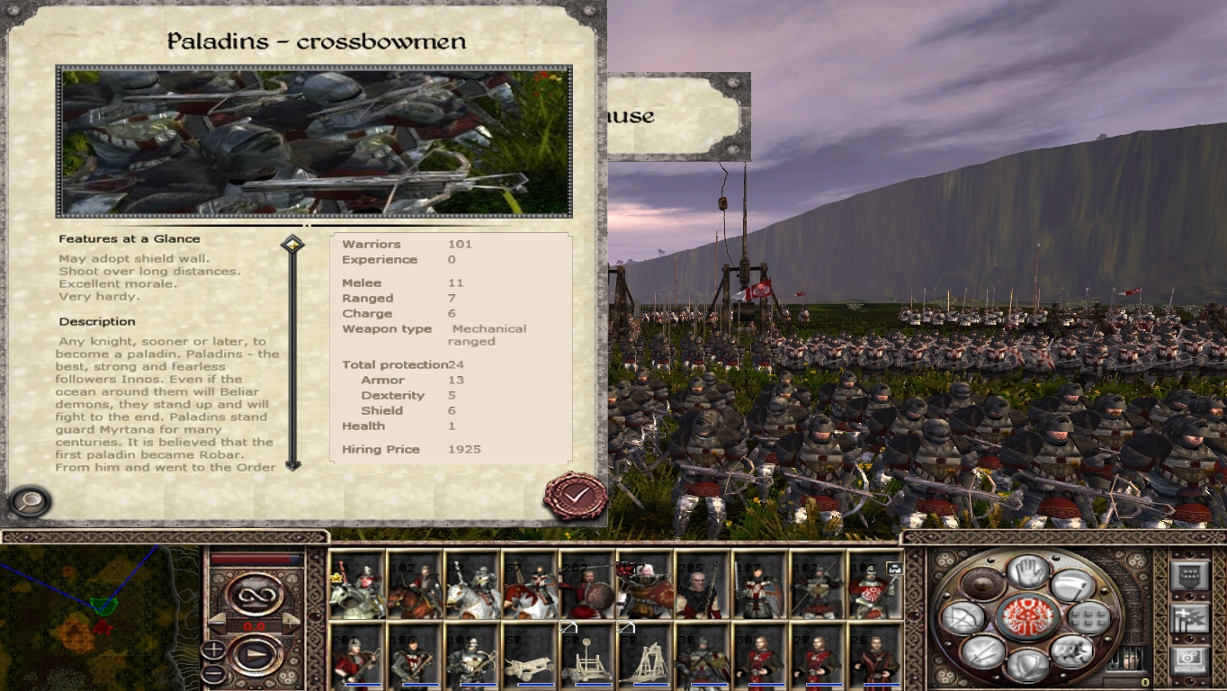 Edu 7 Image Gothic Tw Chronicles Of Myrtana Mod For Medieval Ii Total War Kingdoms Mod Db