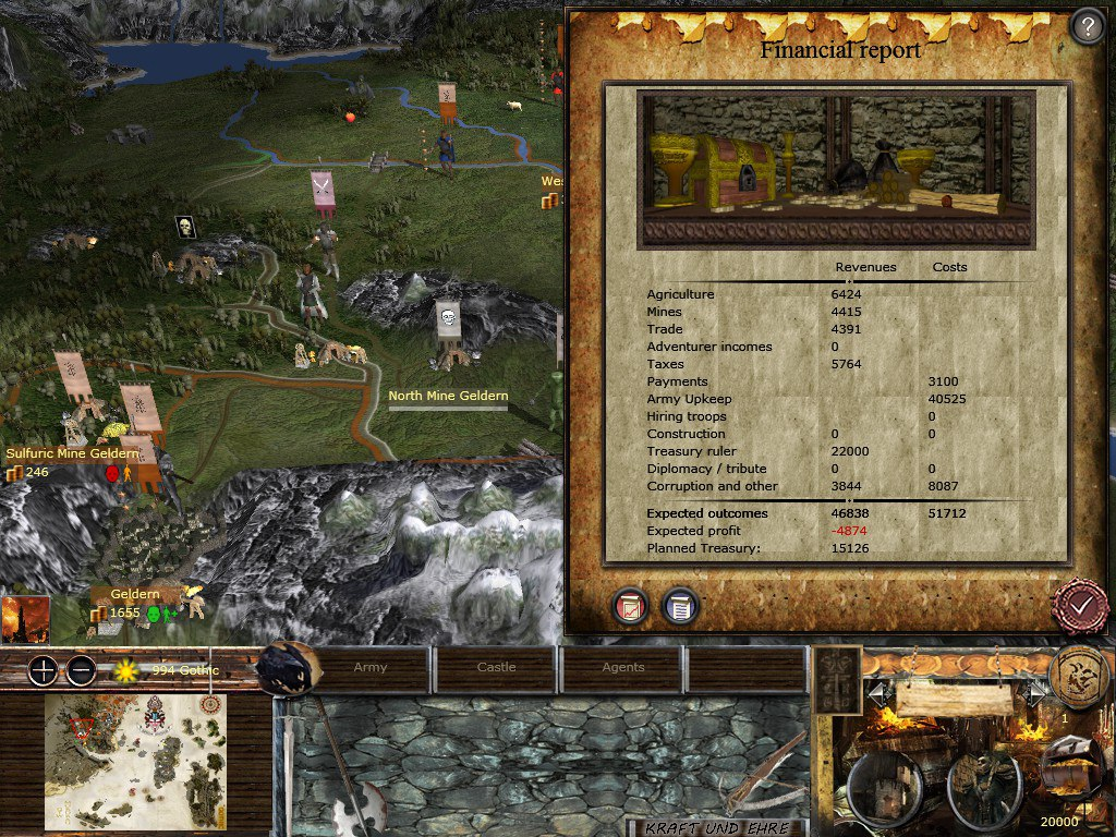 New Graphics Interface Are Planned Image Gothic Tw Chronicles Of Myrtana Mod For Medieval Ii Total War Kingdoms Mod Db
