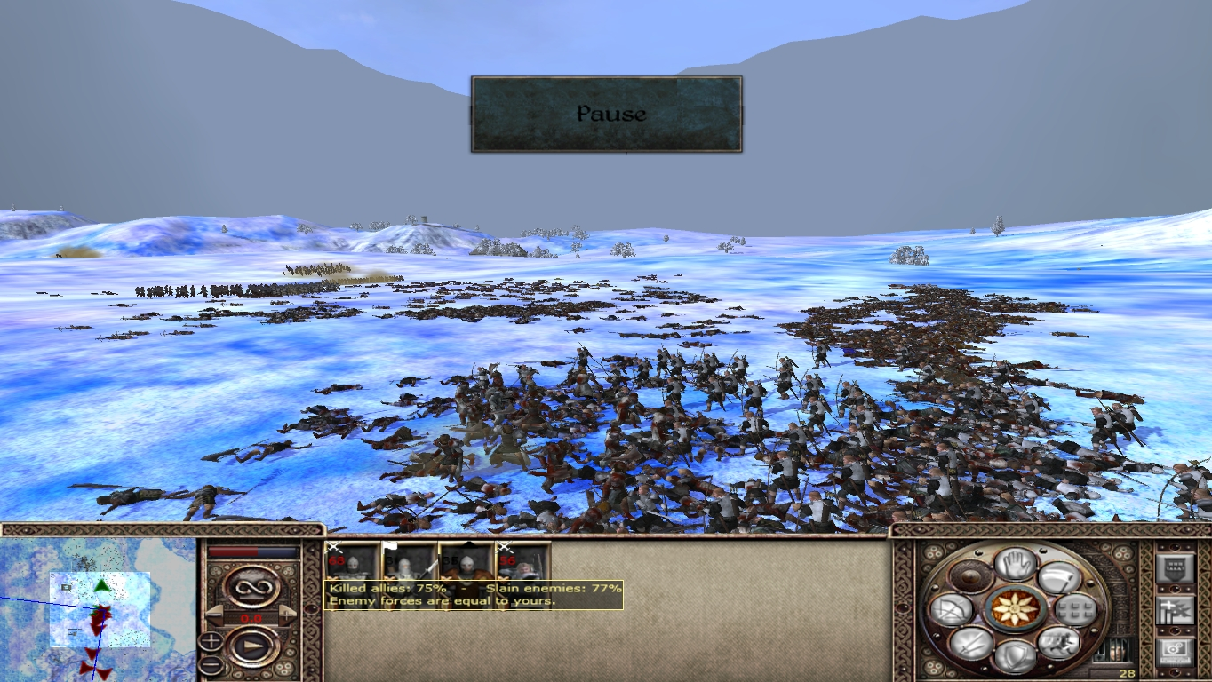 Battle Balancing Image Gothic Tw Chronicles Of Myrtana Mod For Medieval Ii Total War Kingdoms Mod Db