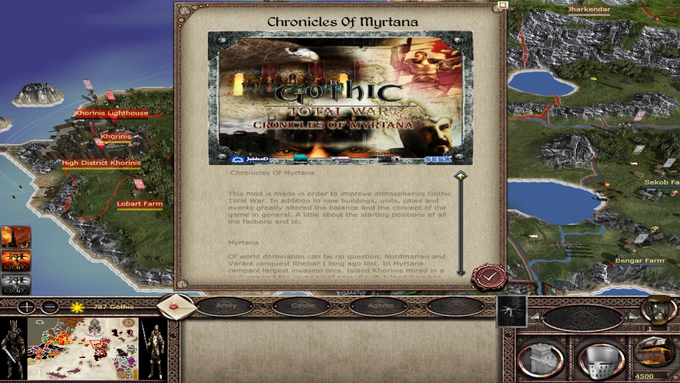 Ok The Very Last Preview D Image Gothic Tw Chronicles Of Myrtana Mod For Medieval Ii Total War Kingdoms Mod Db
