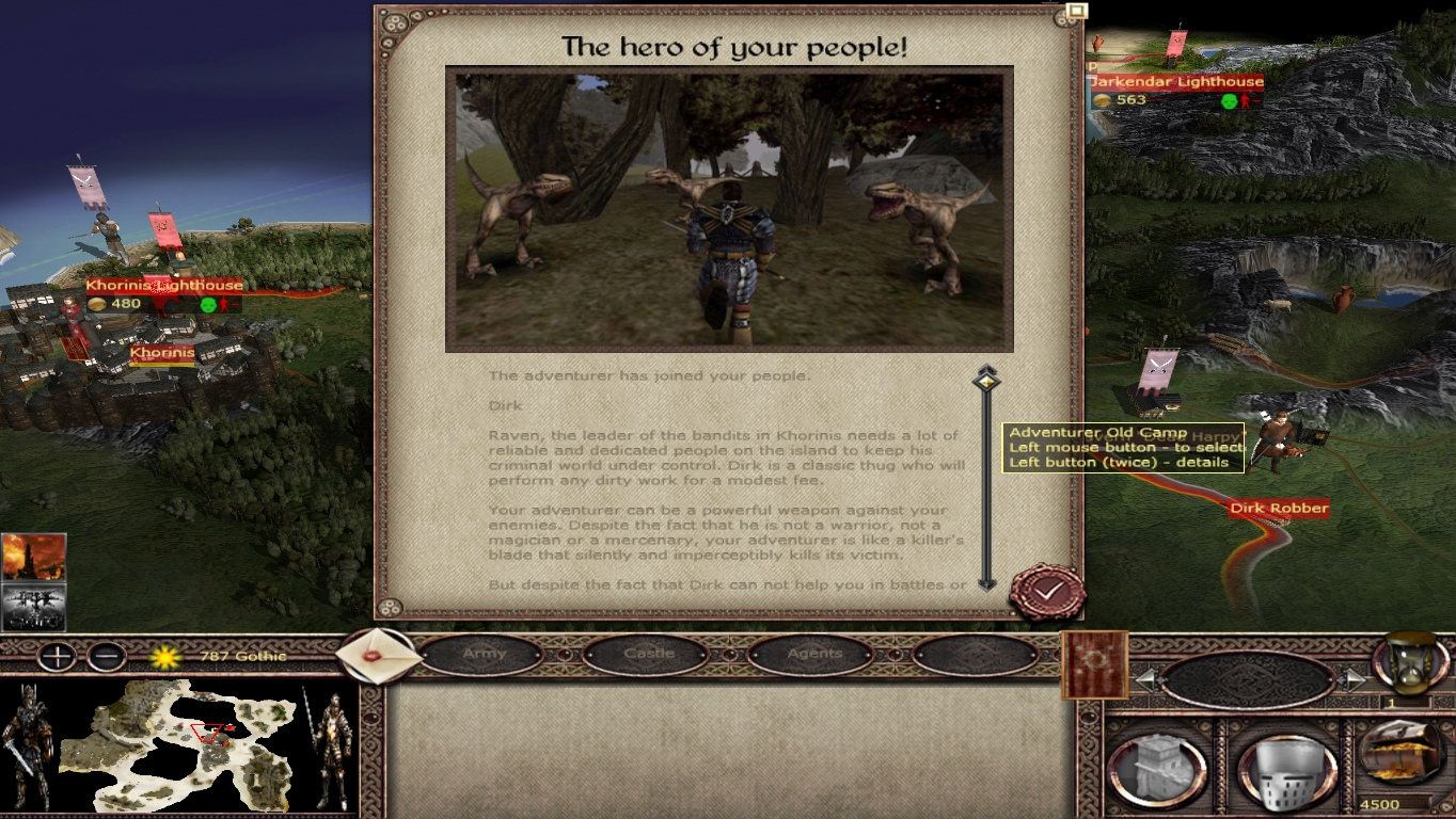 Extension Of Scripts For All Factions Image Gothic Tw Chronicles Of Myrtana Mod For Medieval Ii Total War Kingdoms Mod Db