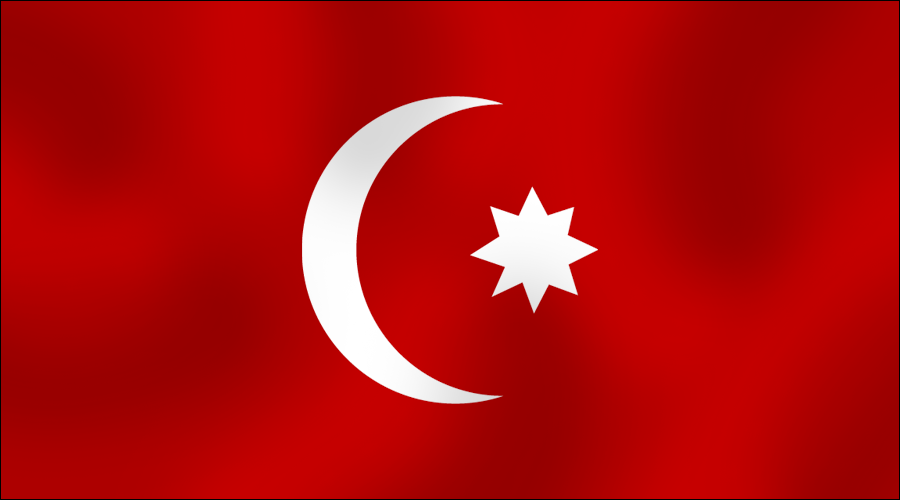 Ottoman Empire Flag During Ww1 NEW FLAG FOR TH...