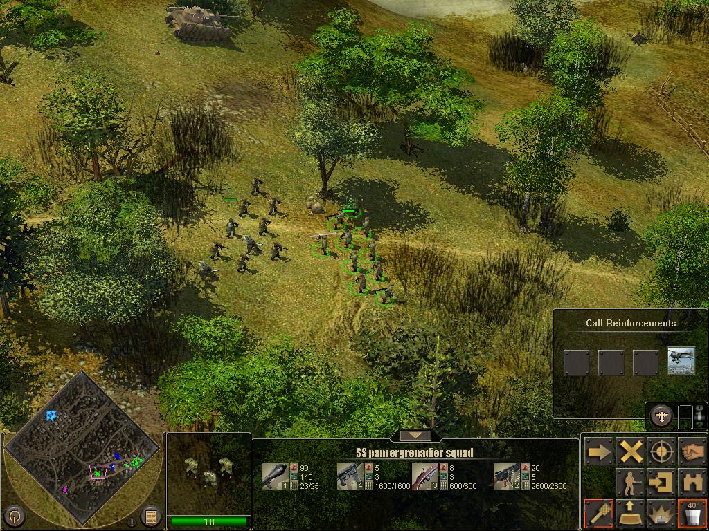 SS panzergrenadier squad image - Horzen Mod for Frontline: Fields of