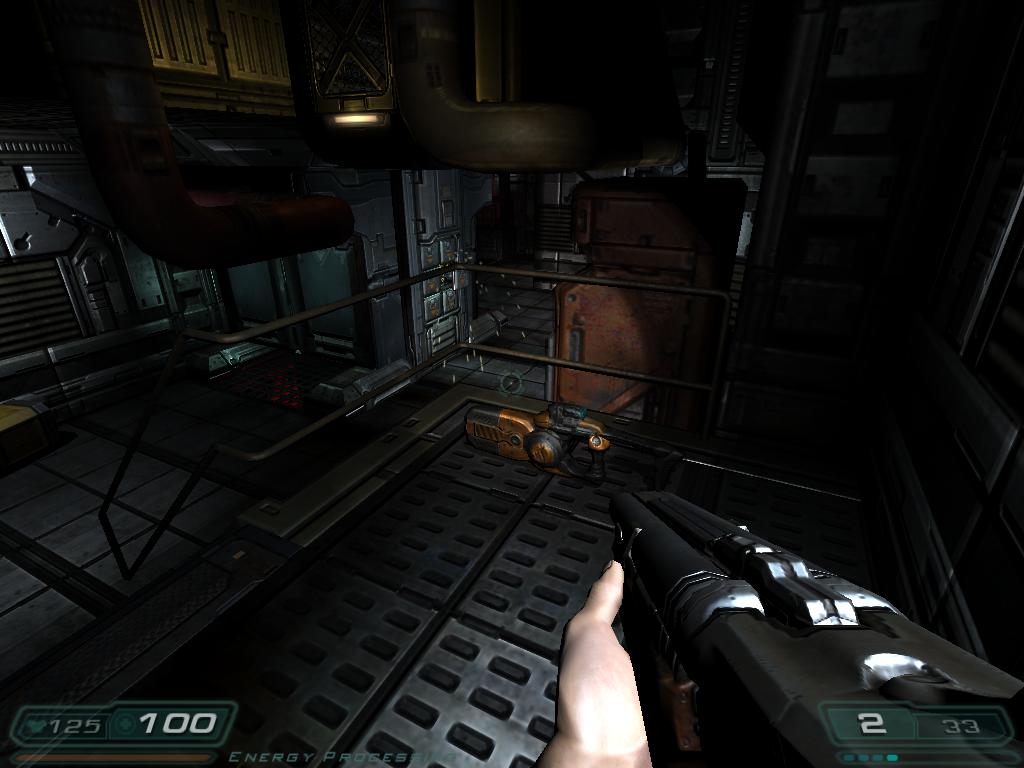 Double Barrel Shotgun in Doom 3