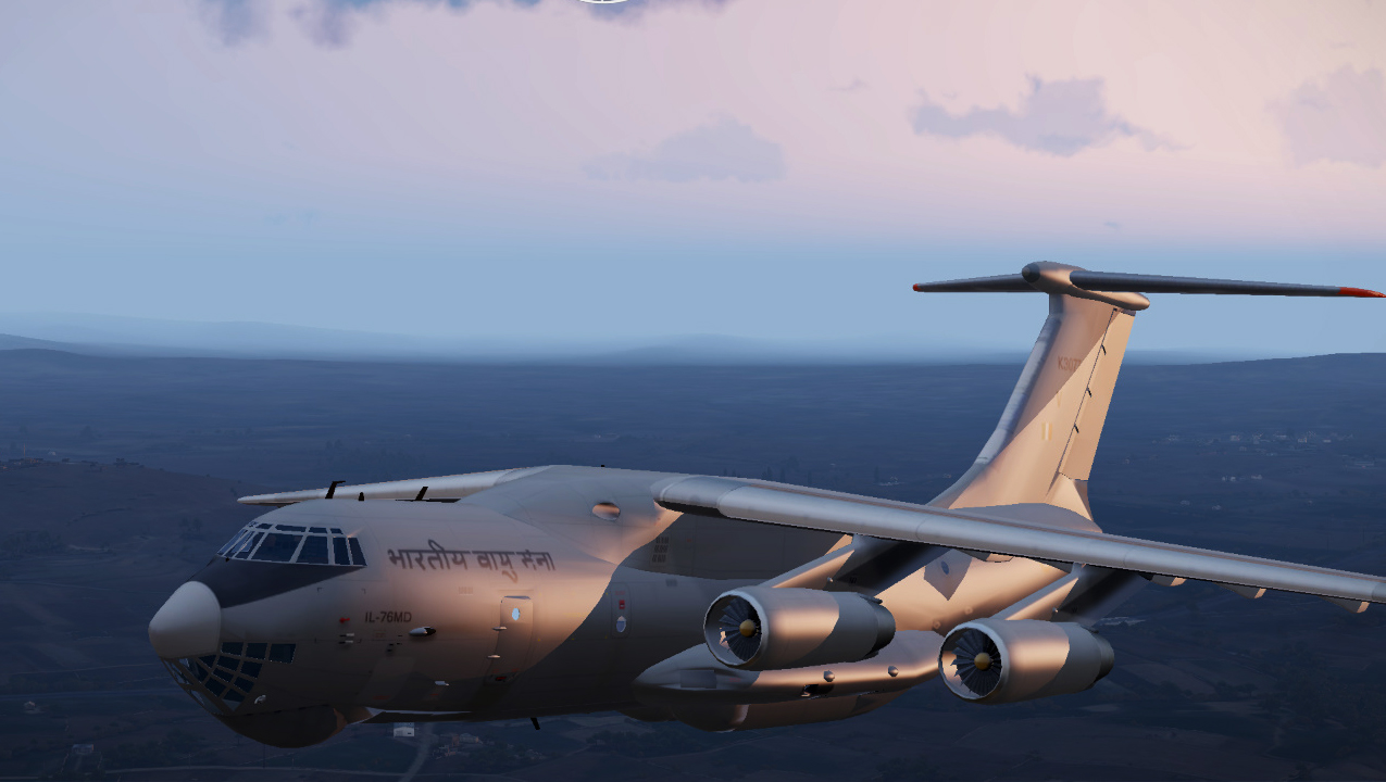 Image 9 - Ilyushin Il-76 mod for ARMA 3 - Mod DB