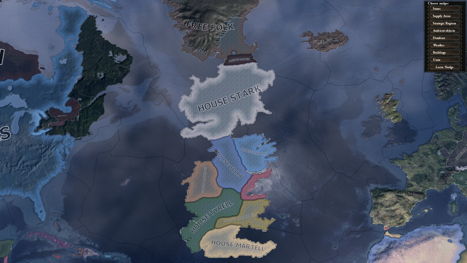Westeros Map High Resolution Political