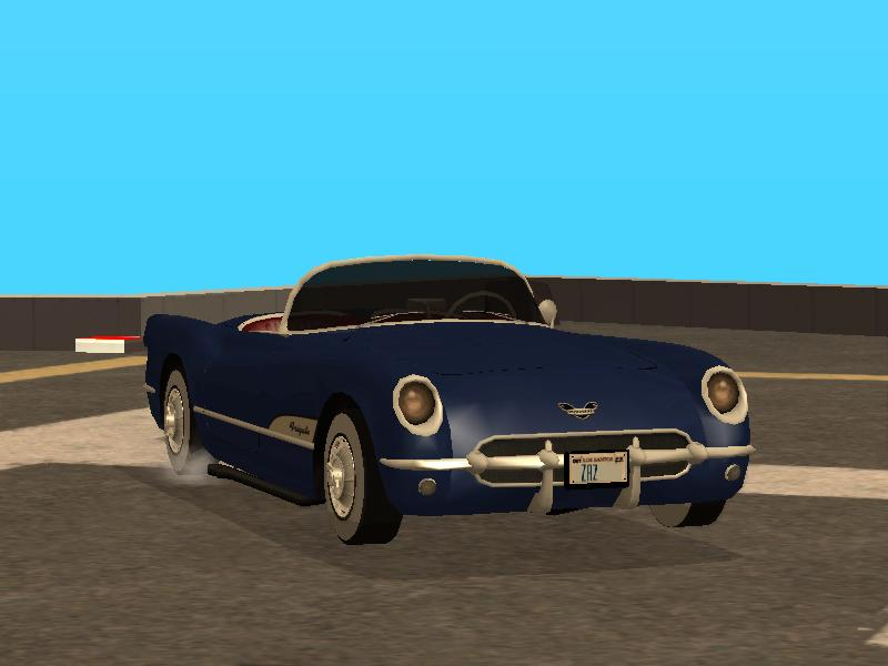 1954 Chevrolet Corvette Image Grand Theft Auto 1950s Mod For Grand