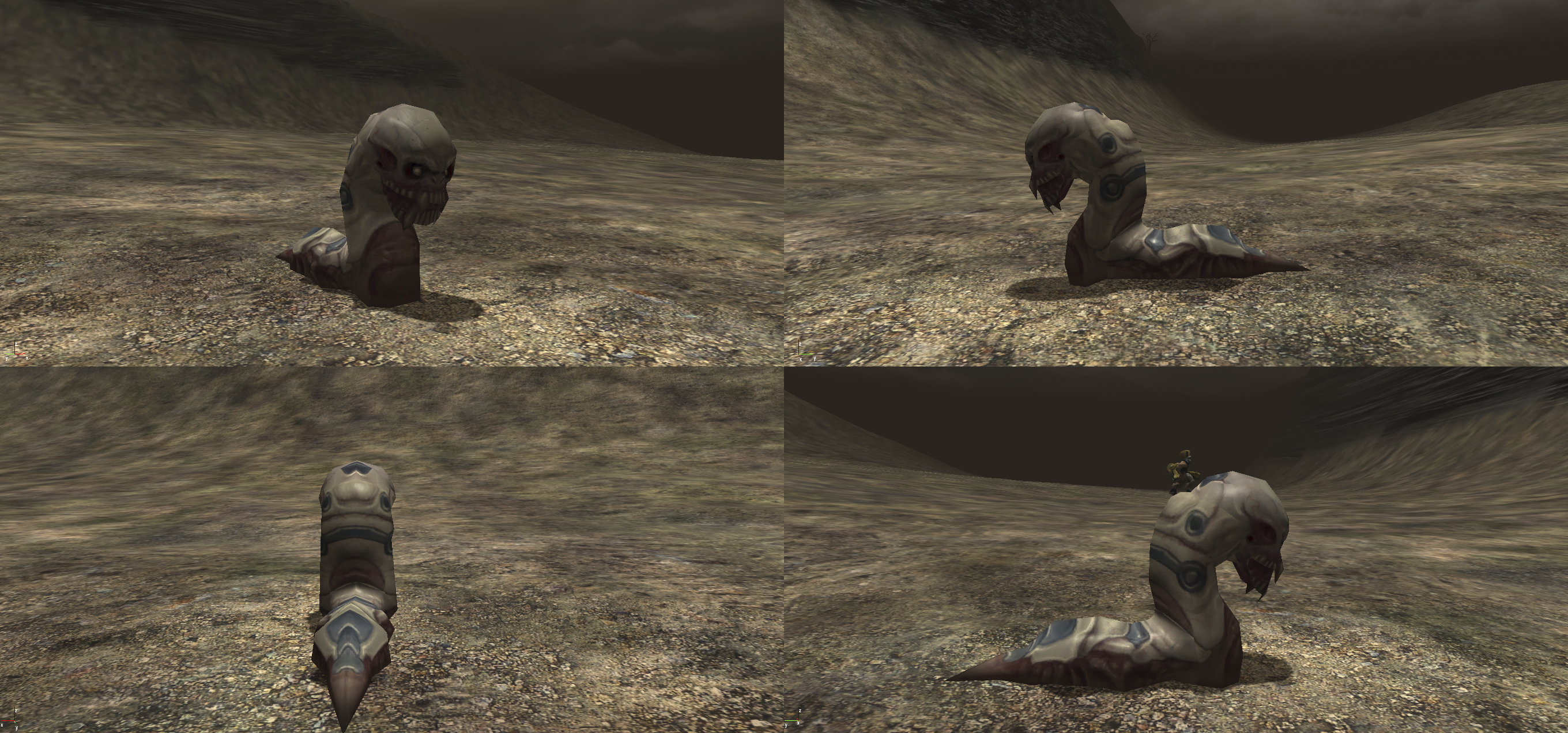 How Mutant Slug Really Looked Image Brp Beta Restoration Project Mod For Far Cry Mod Db