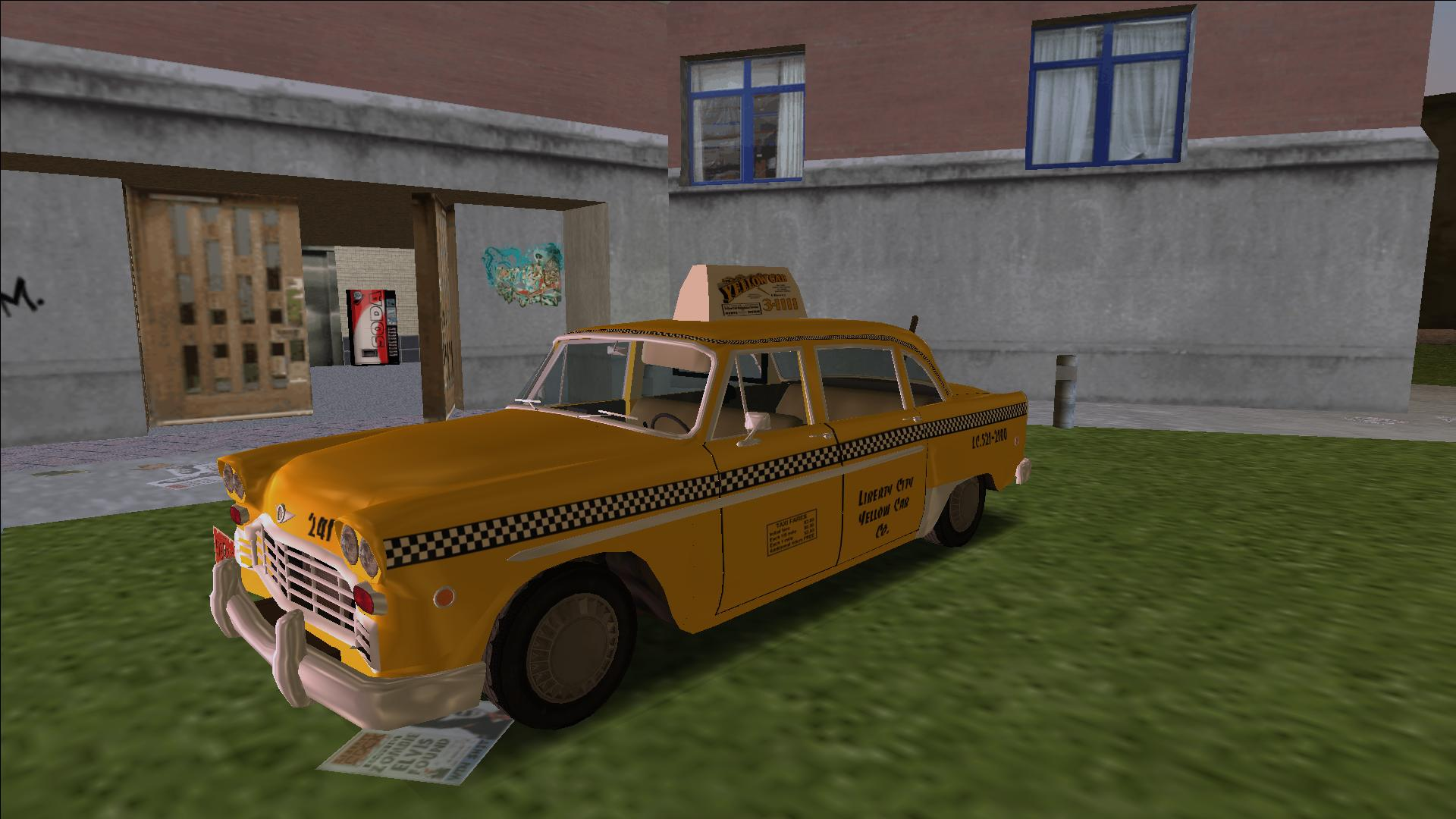 Cabbie image - Real Prototypes Car Pack mod for Grand Theft Auto