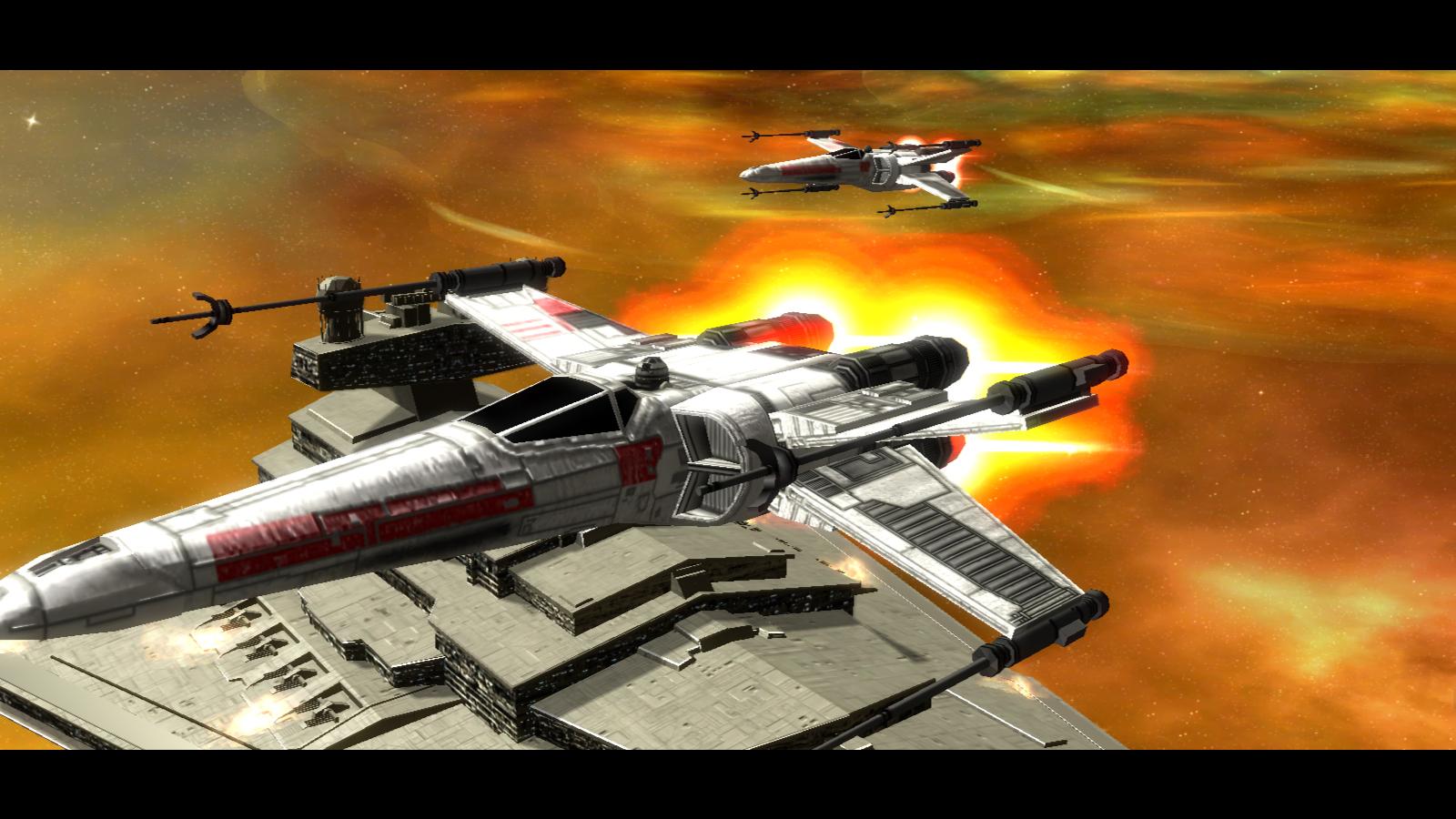 Rogue Squadron escorts the Chimaera image - New Jedi Order