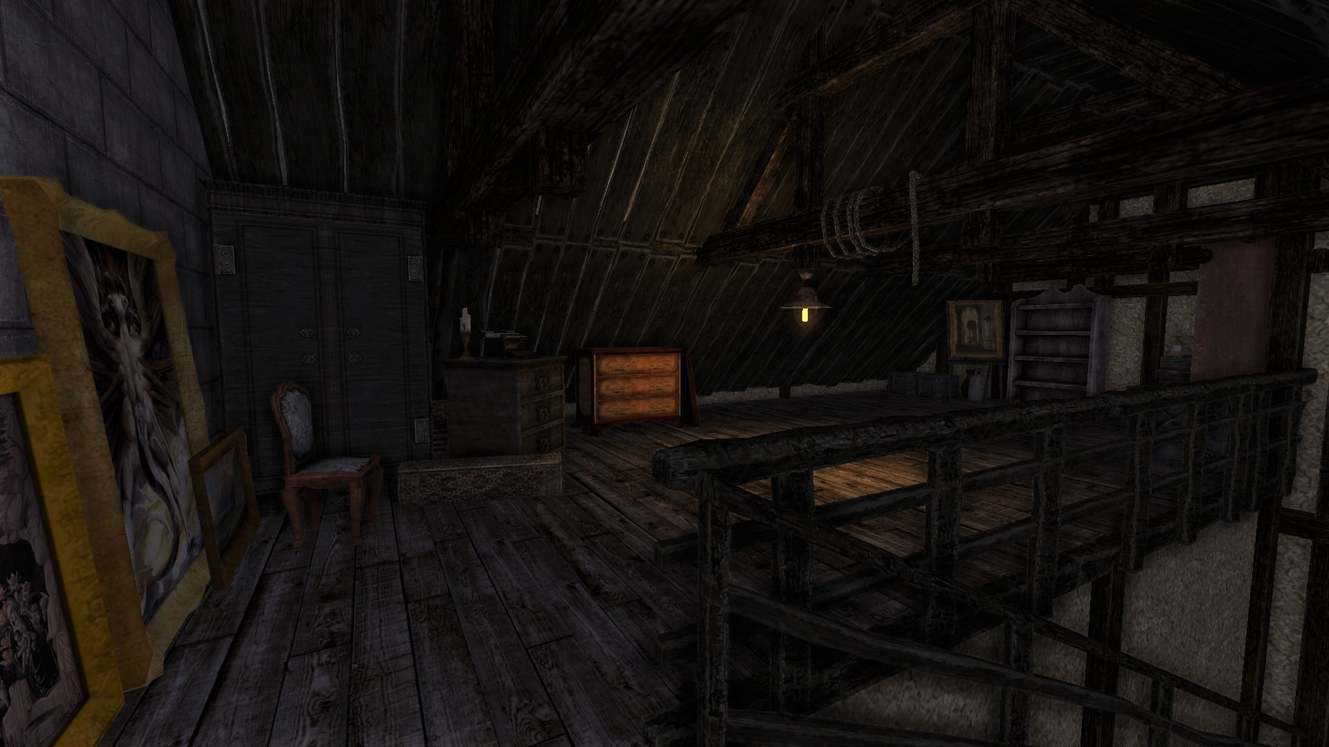 Attic Image Amnesia Black Keys Mod For Amnesia The