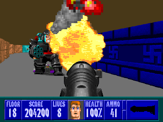 Zdoom view topic ecwolf extreme wolfenstein 3d for Wolfenstein 3d