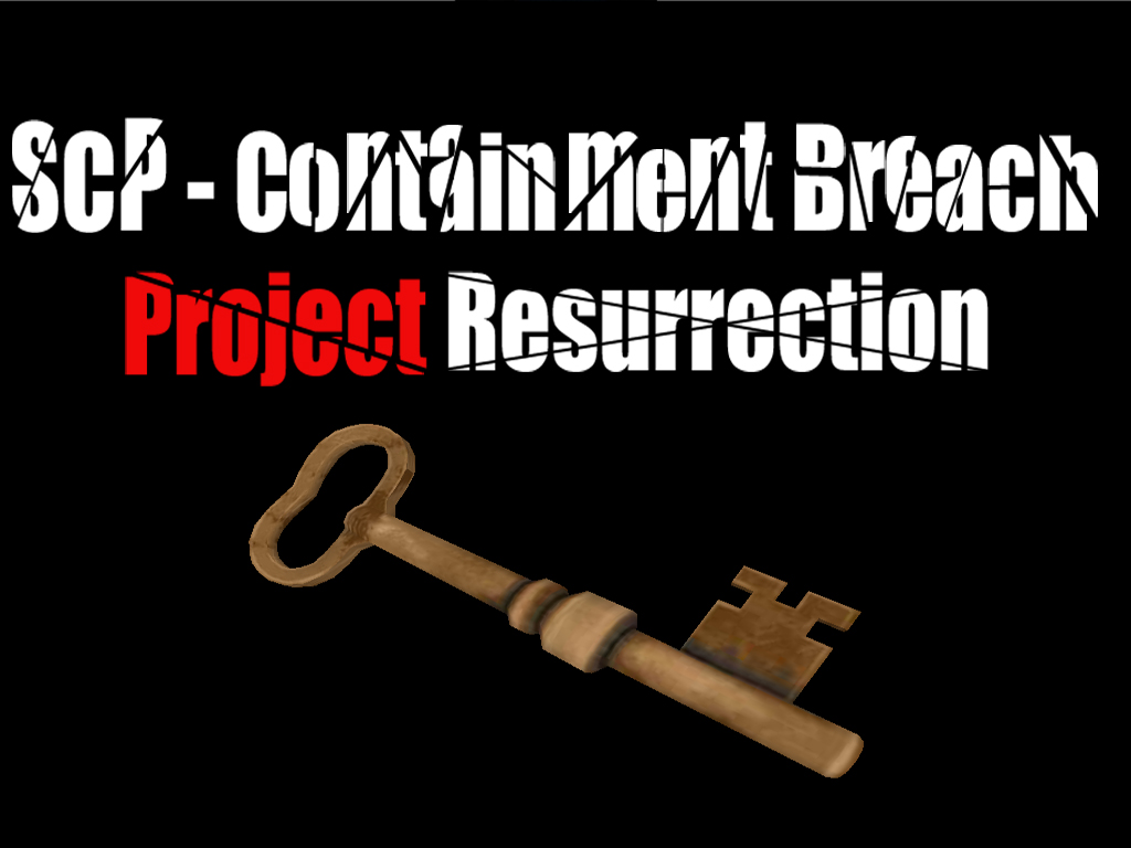SCP:CB - Project Resurrection (2016 - 2018) mod for SCP