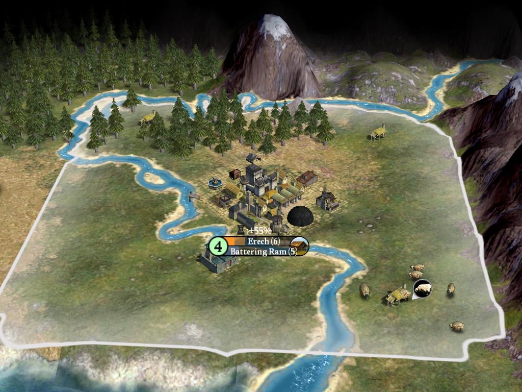 Image 9 - Middle Earth mod for Civilization IV: Beyond the Sword