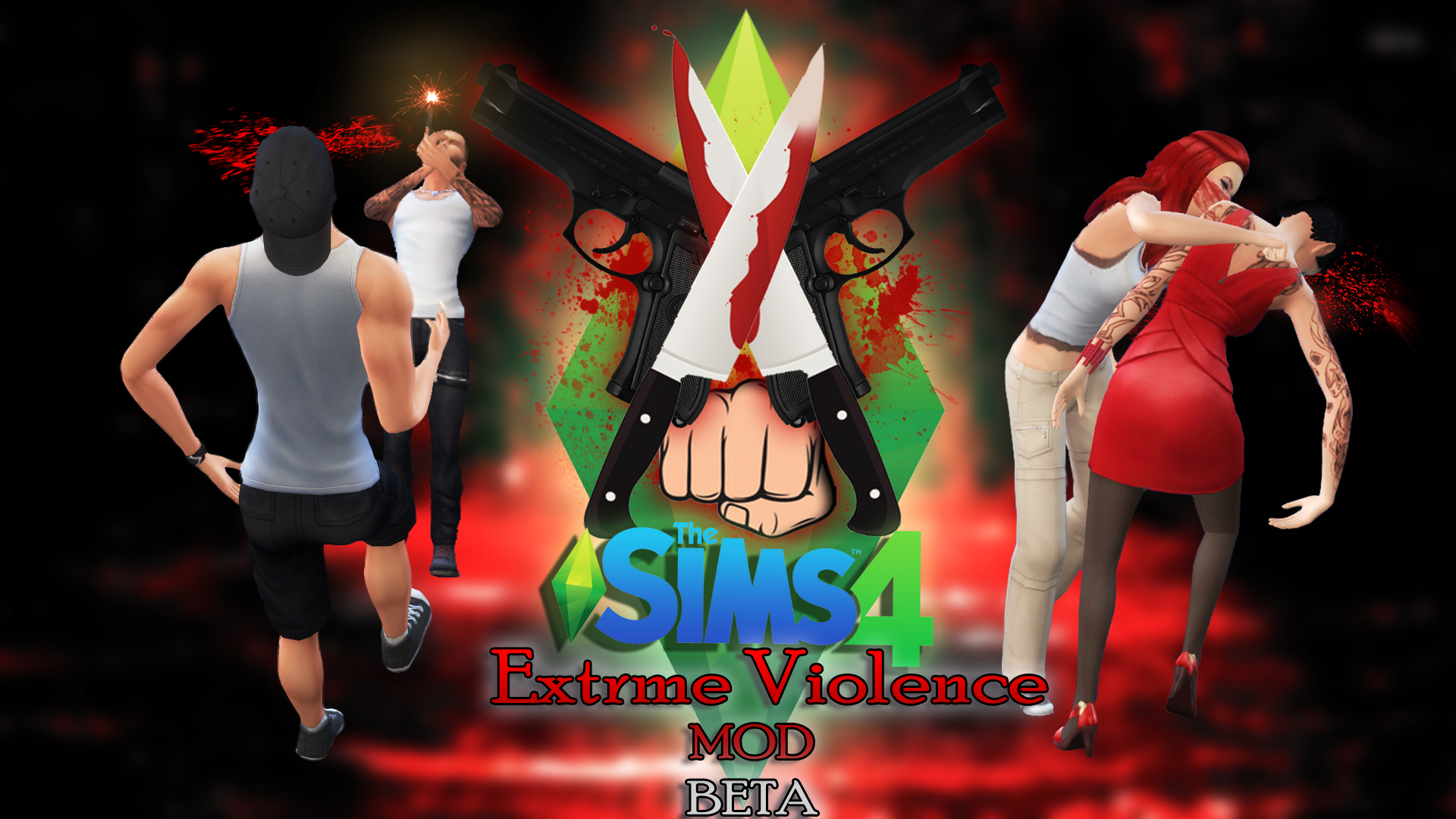 Extreme Violence mod for The Sims 4 - Mod DB