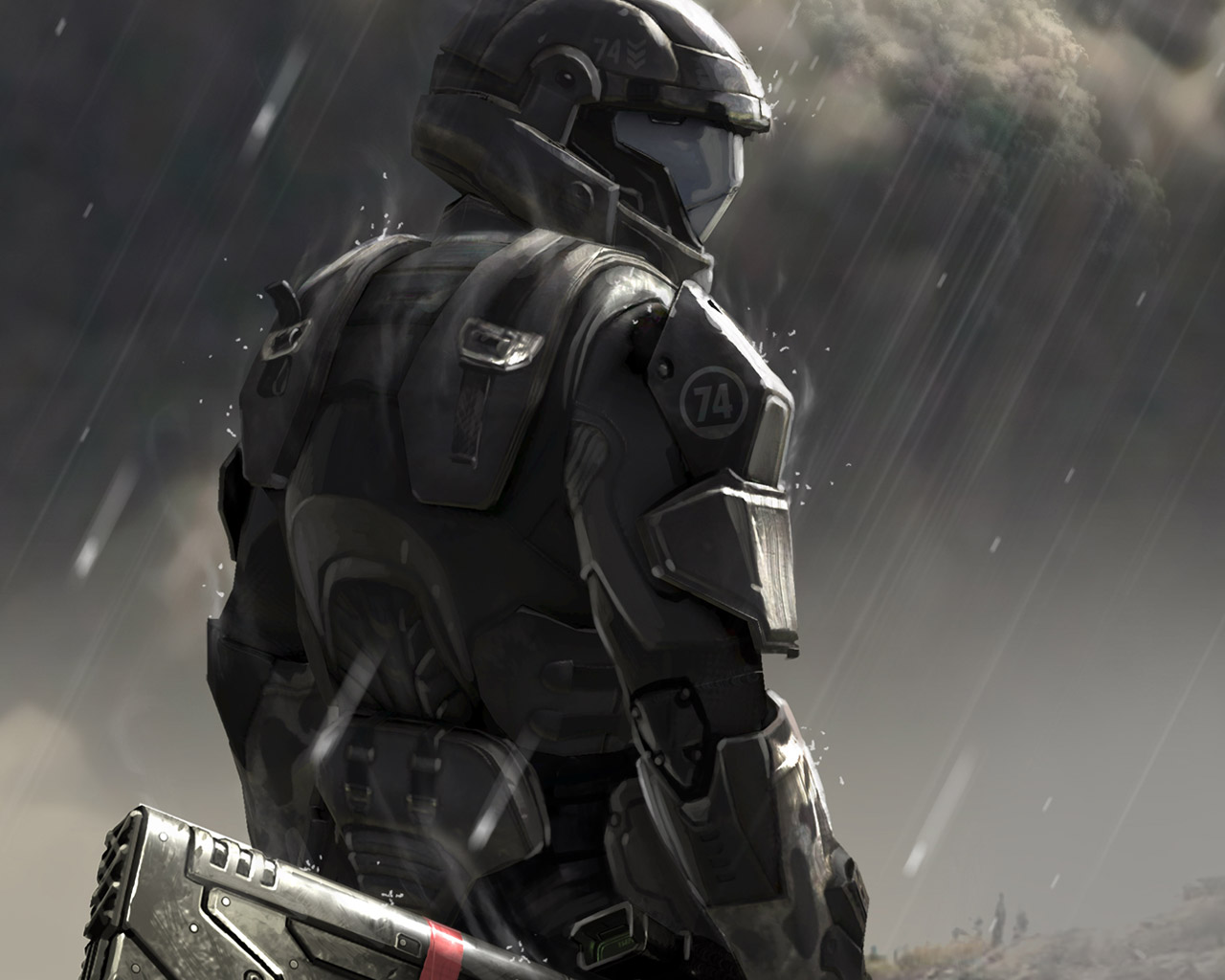 New blood mod for call to arms mod db - Halo odst images ...