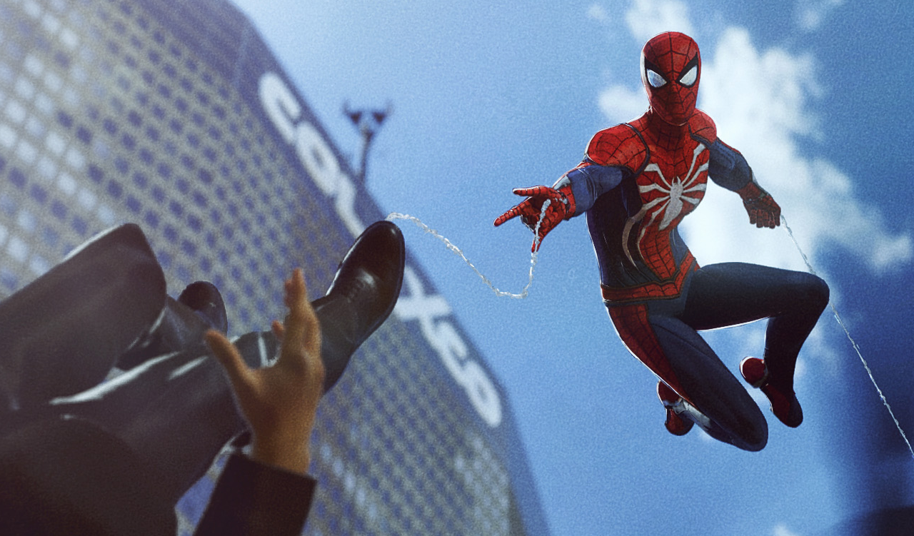 PS4 Spider-Man Suit Mod for Spider-Man 2 - Mod DB