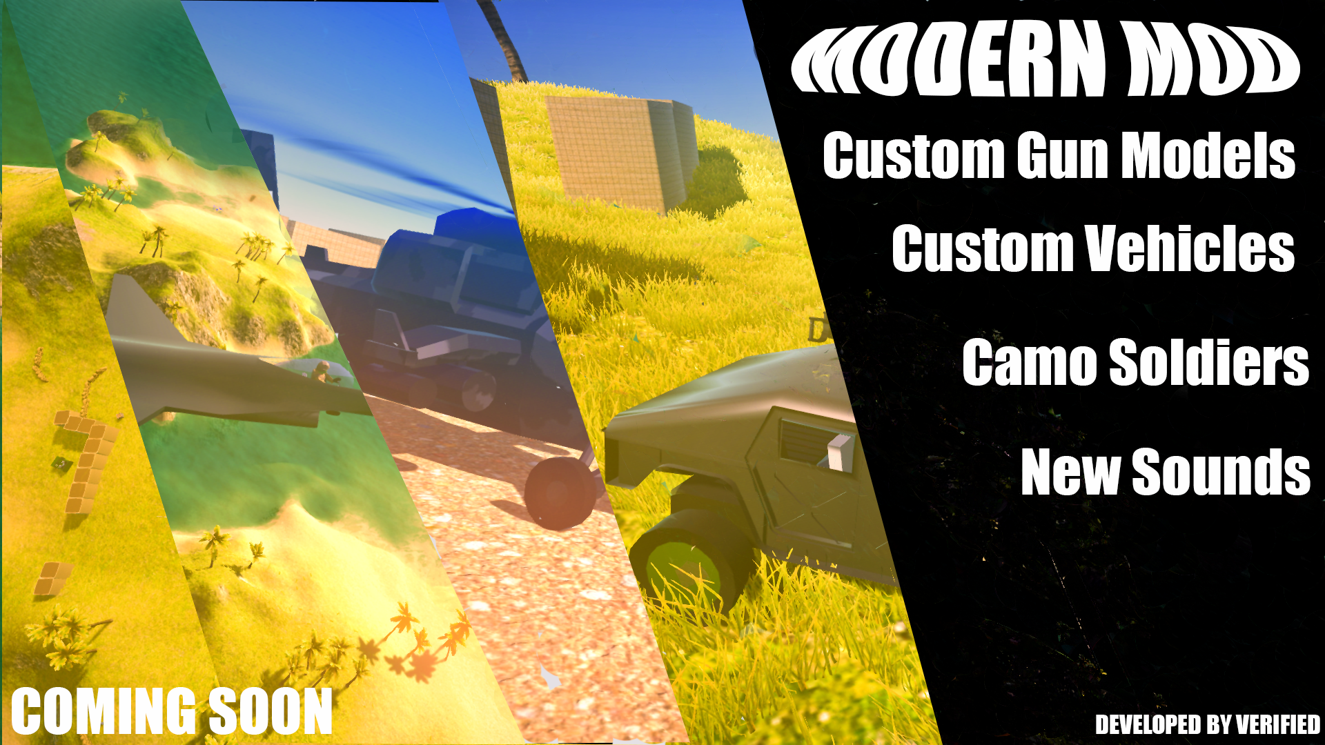 MODERN MOD BETA 1337 for Ravenfield (Unofficial Page) - Mod DB