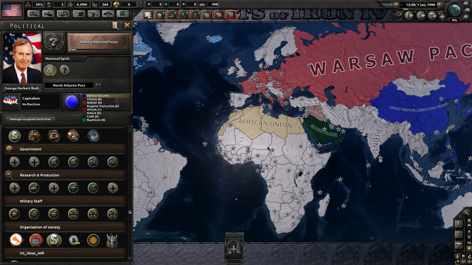 Image 27 - Hearts of Iron IV: The International mod for