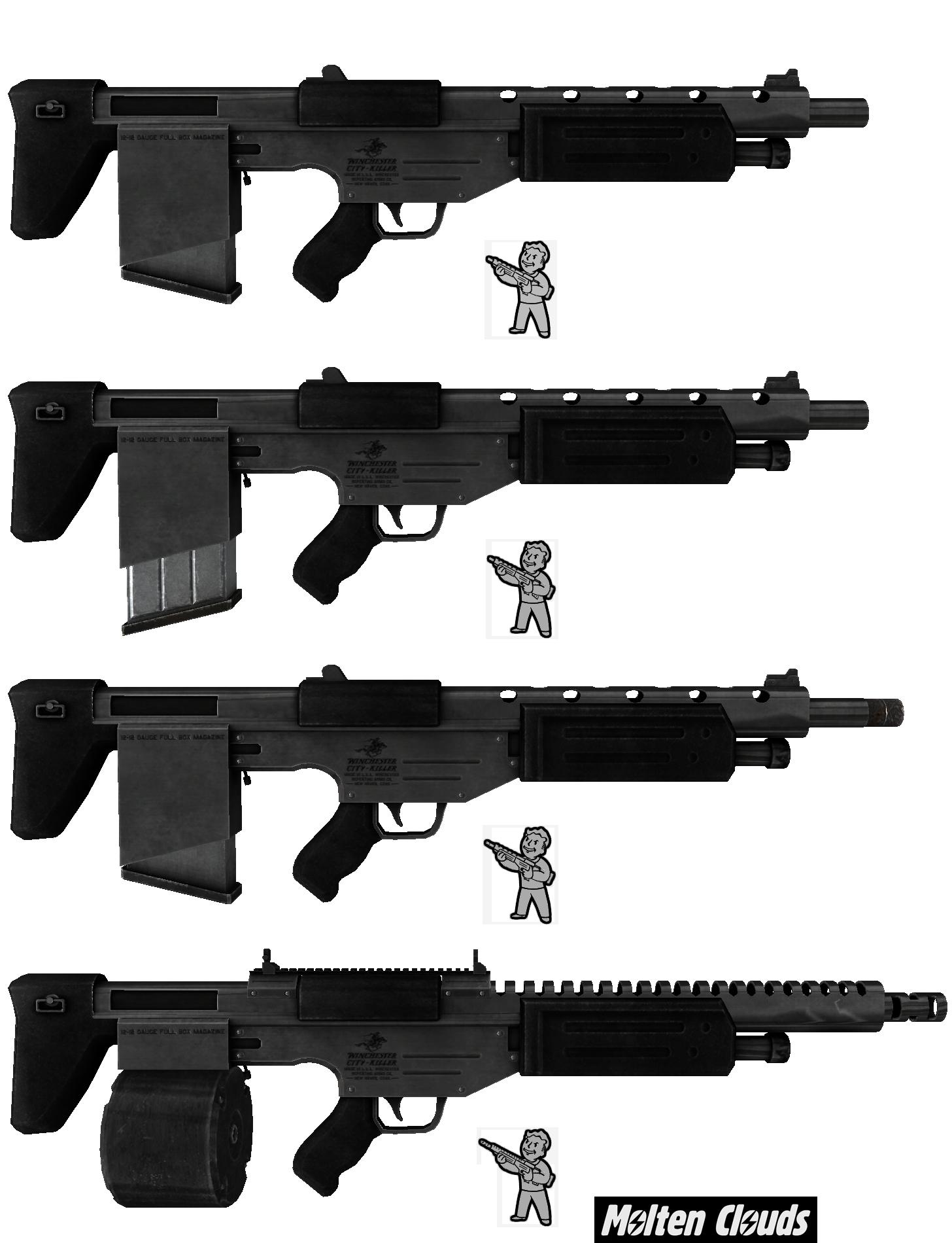 Combat Shotgun image - The Chosen's Way mod for Fallout: New
