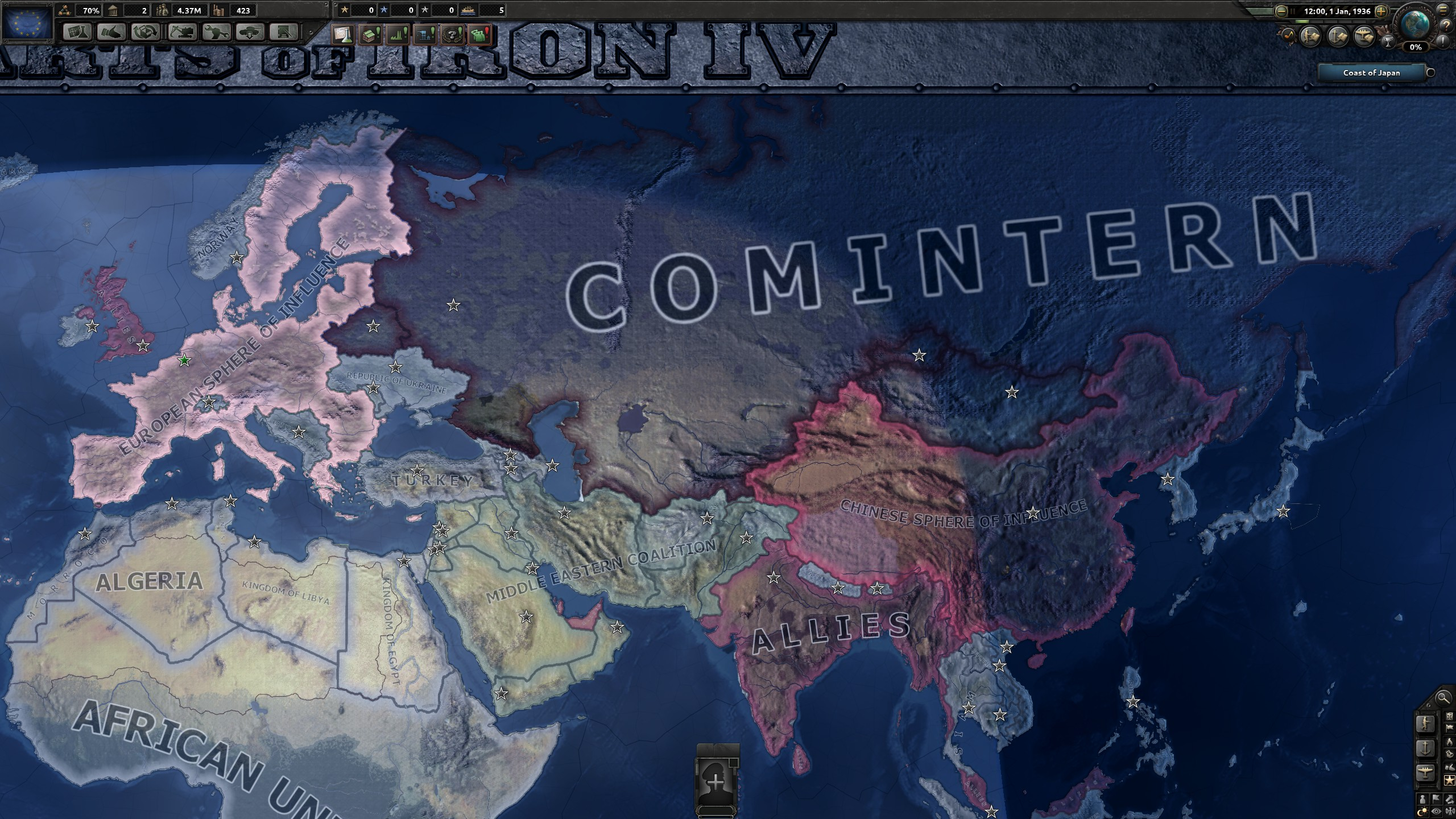 hearts of iron 4 cold war mod