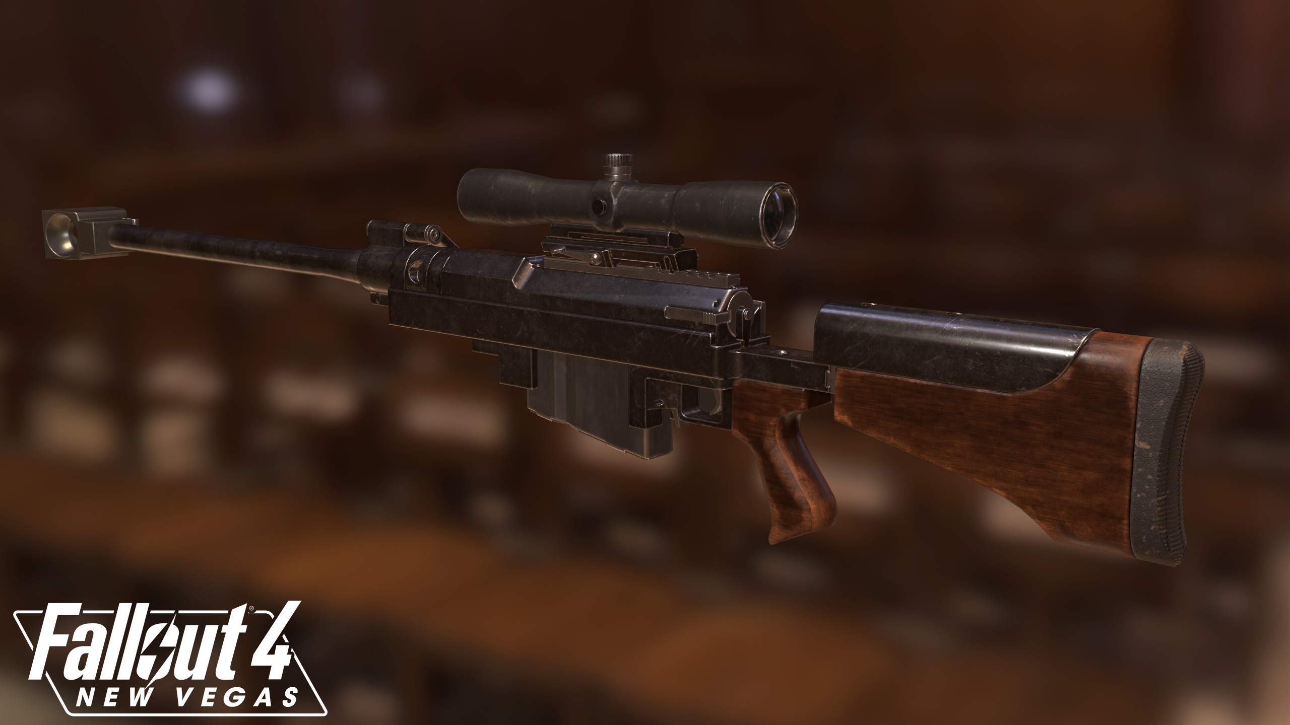 Anti Materiel Rifle anti-materiel rifle image - fallout 4: new vegas mod for