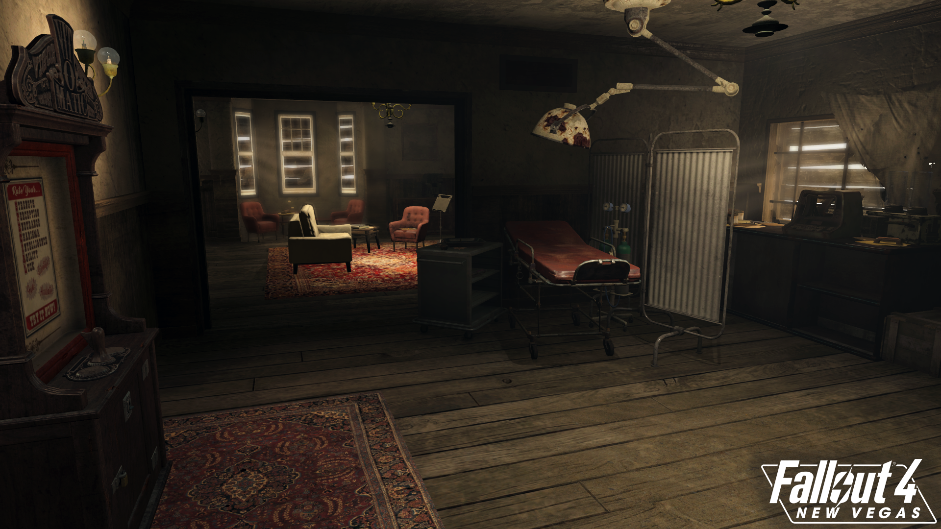 Doc mitchell 39 s house interior image fallout 4 new vegas for Best house design fallout 4