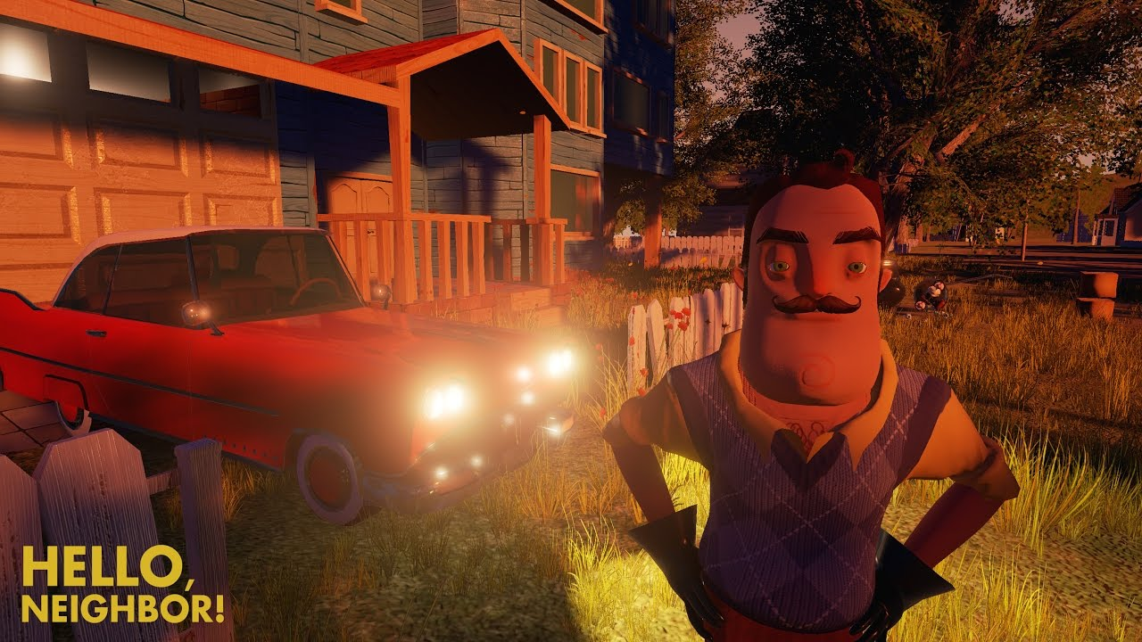 Game Hello, Neighbor: Alpha 1 play online for free
