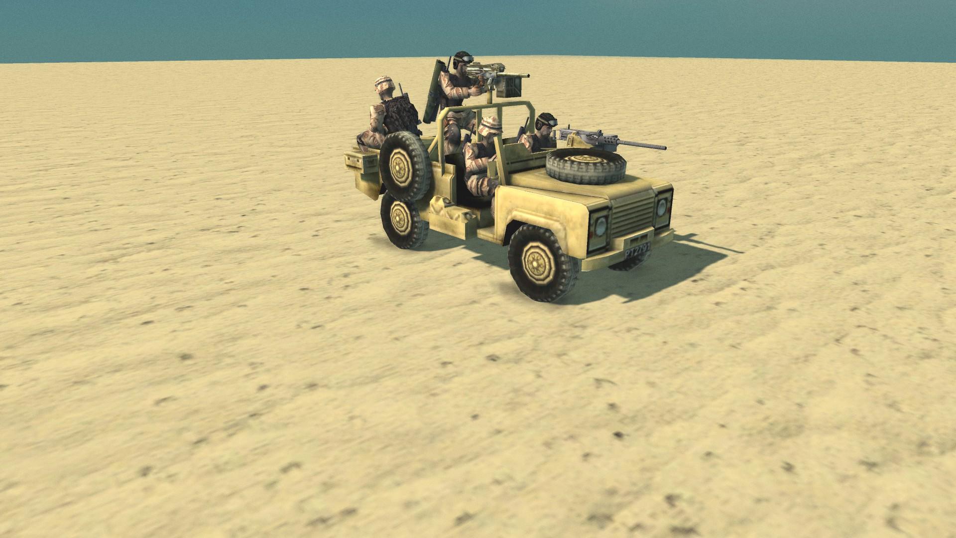 Landrover image - Conflict: Desert Storm II Remastered mod