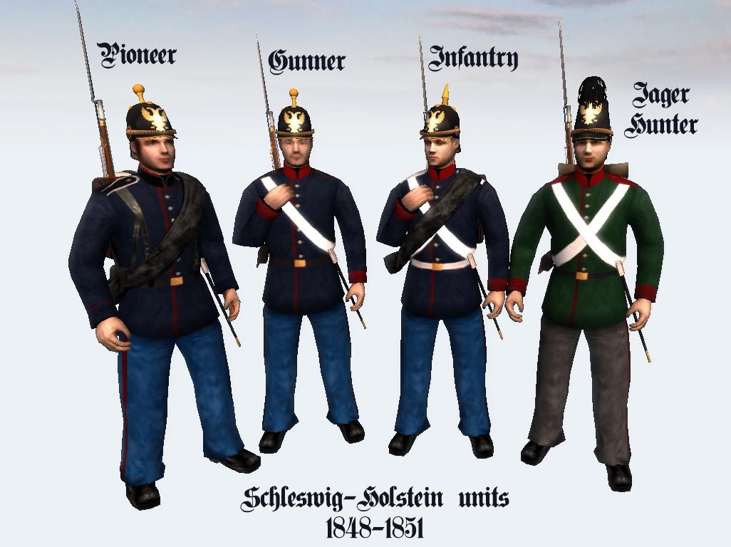 Duchy Of Schleswig Holstein Image 19th Century Total War Mod For