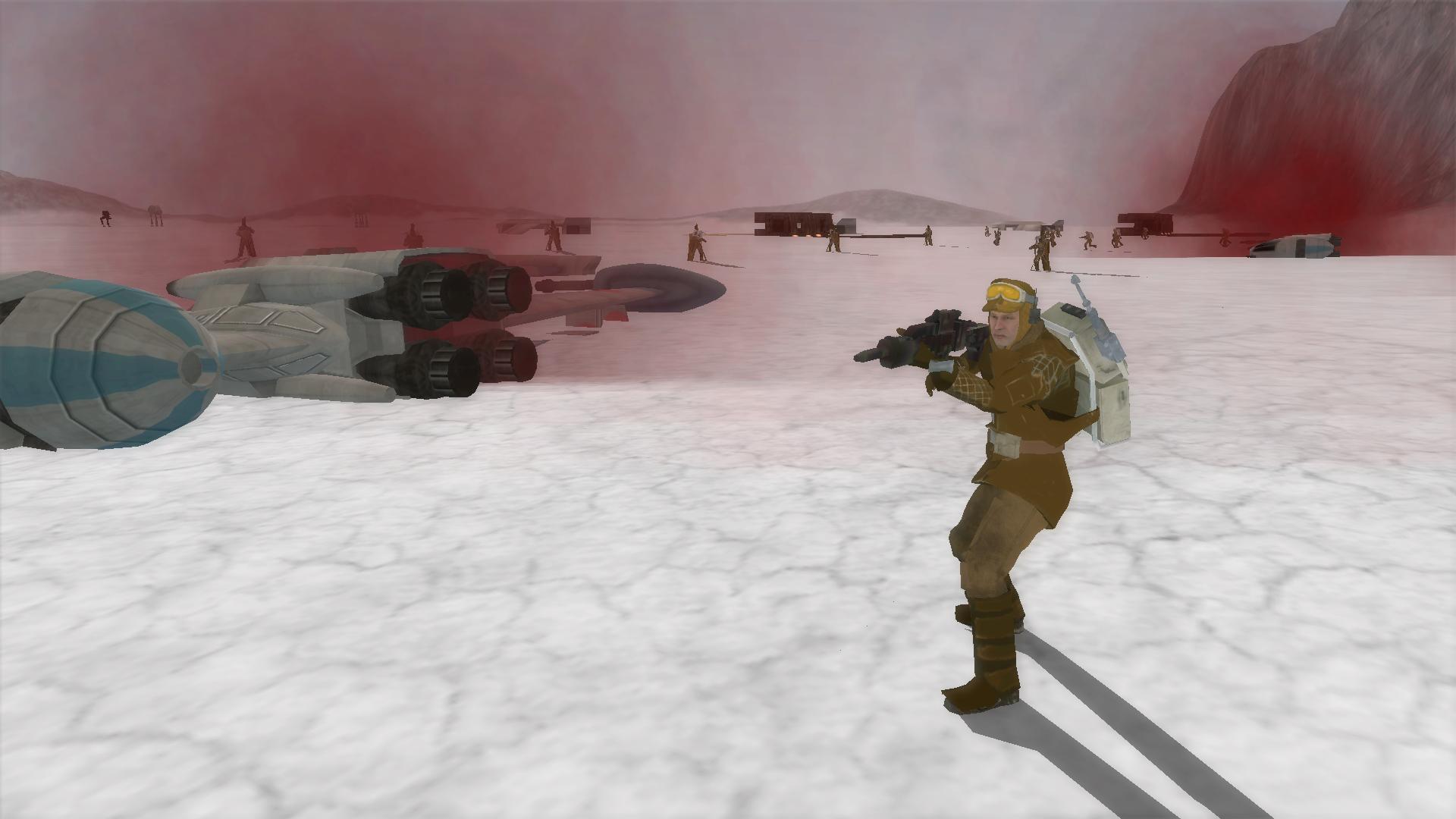 Crait Resistance Soldier Image Star Wars A New Frontier Mod For Star Wars Battlefront Ii Mod Db
