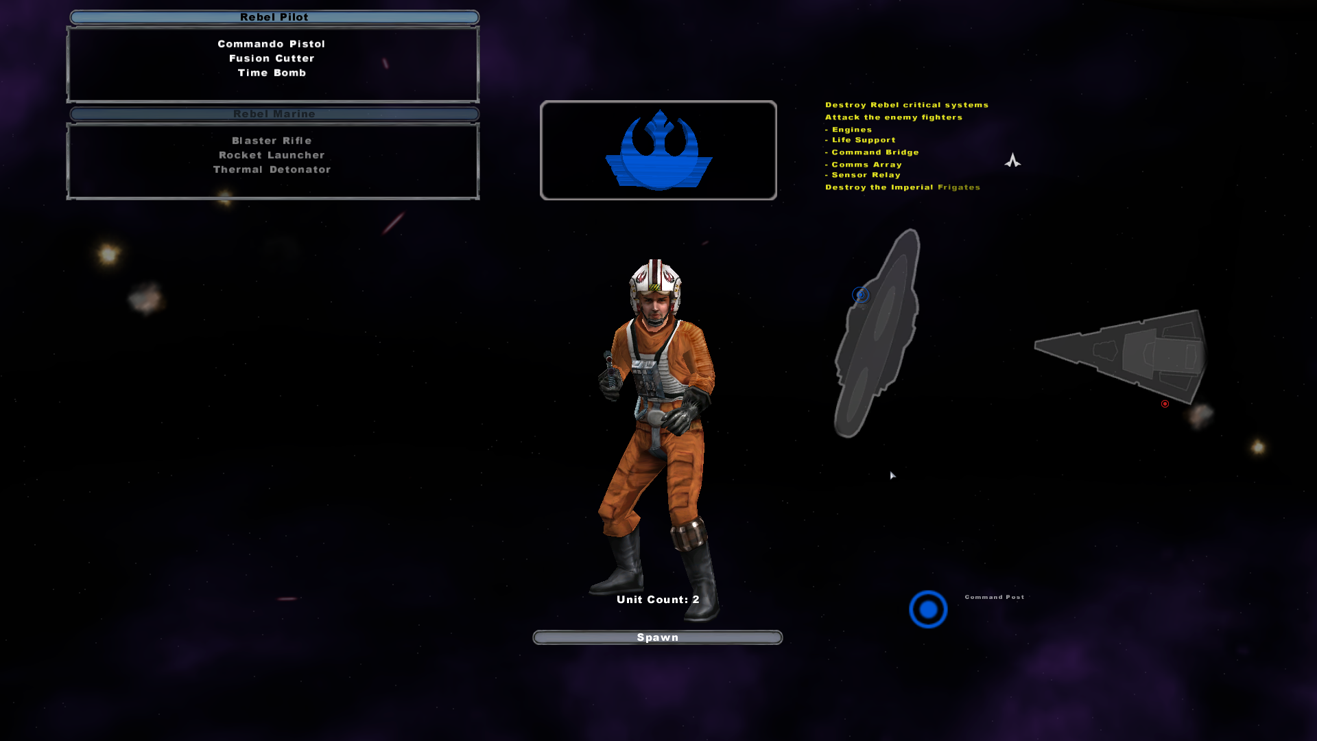 Resistance Command Post Icon image - Star Wars: A New Frontier mod