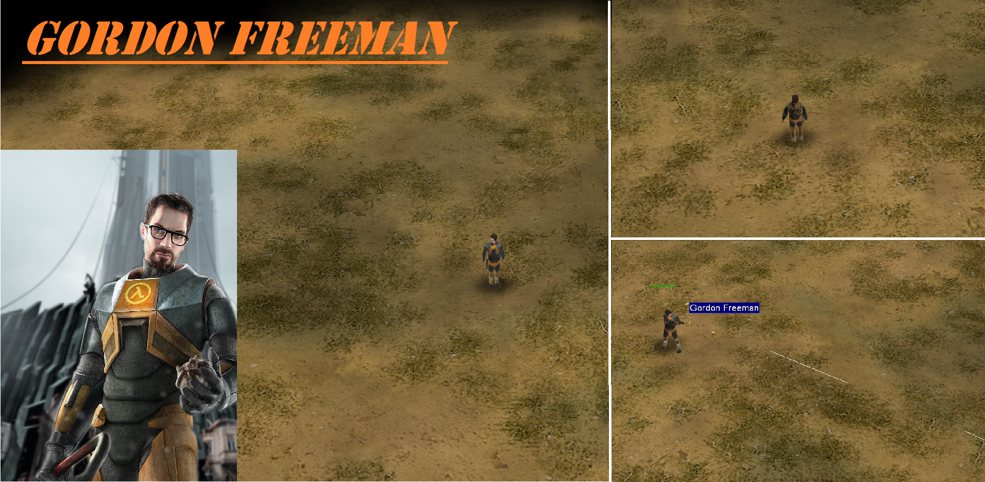 Gordon Freeman Image Half Life H Hour Mod For C C