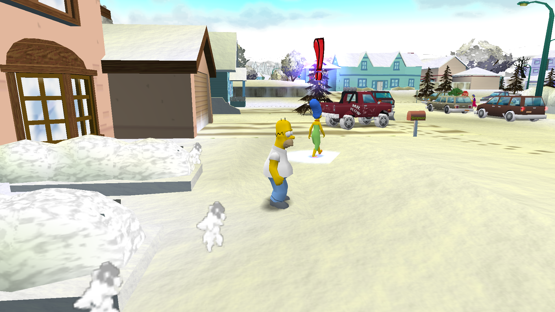Image 5 - The Simpsons hit and run christmas 2018 edition mod for