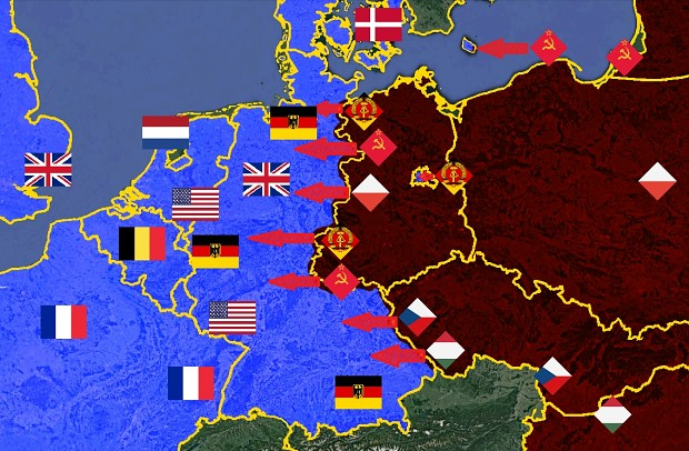 Map Of Germany During Cold War.New Menu Image Ostvswestde East Germany Vs West Germany Cold War