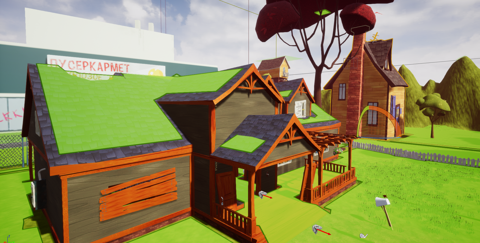 how to add models in hello neighbor mods