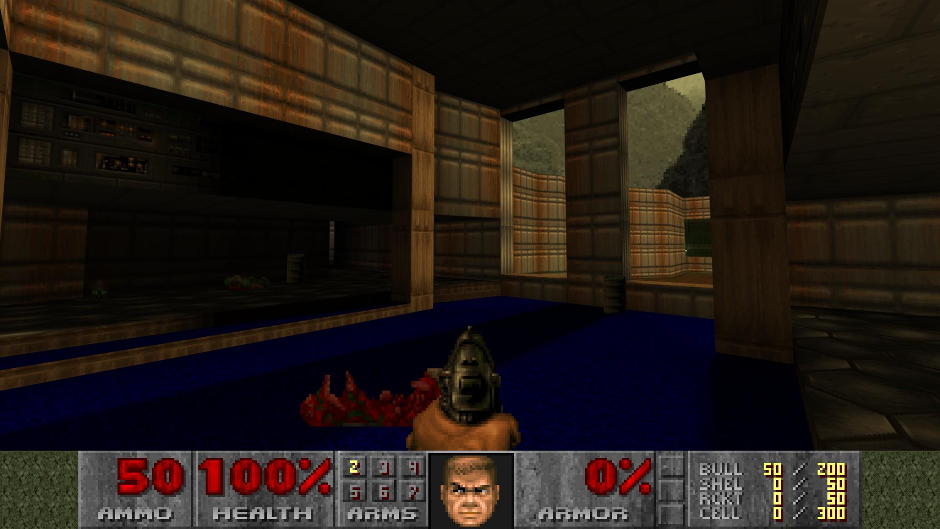 GL E1M1 mod for Doom - Mod DB