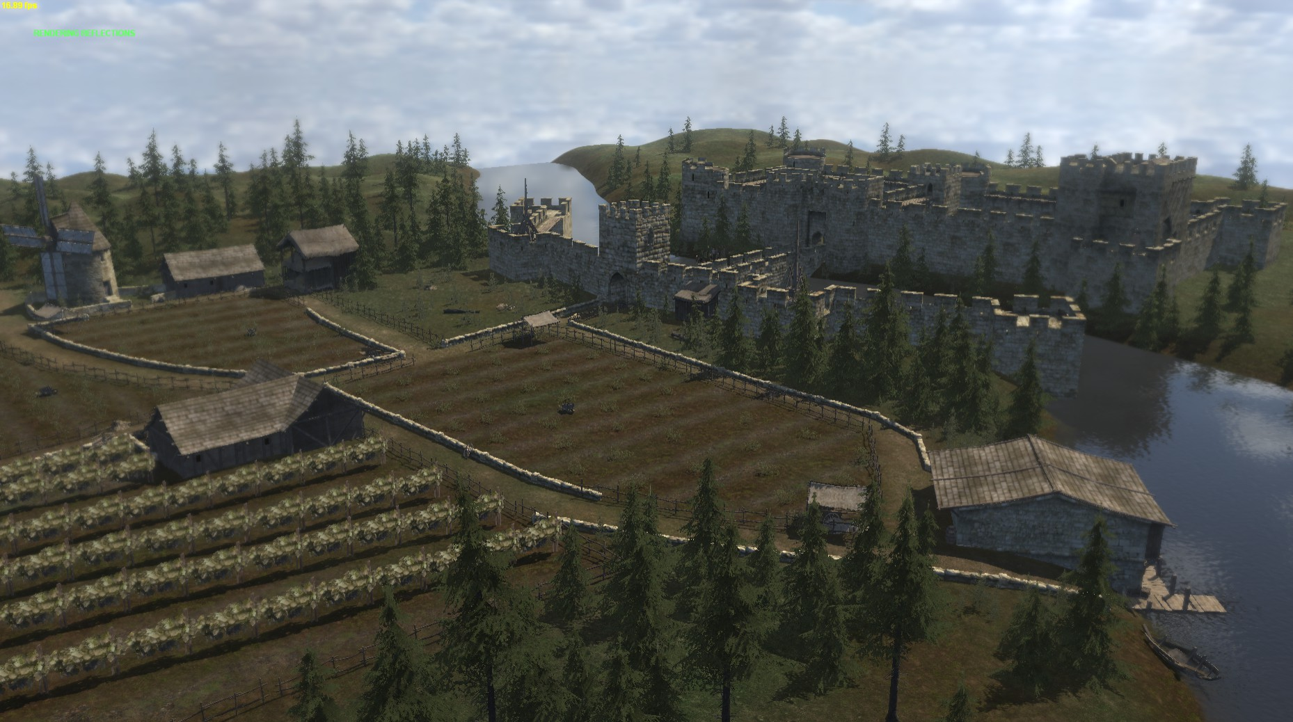 mount and blade warband town popularity