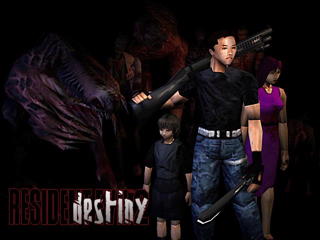 Resident Evil Destiny Cover