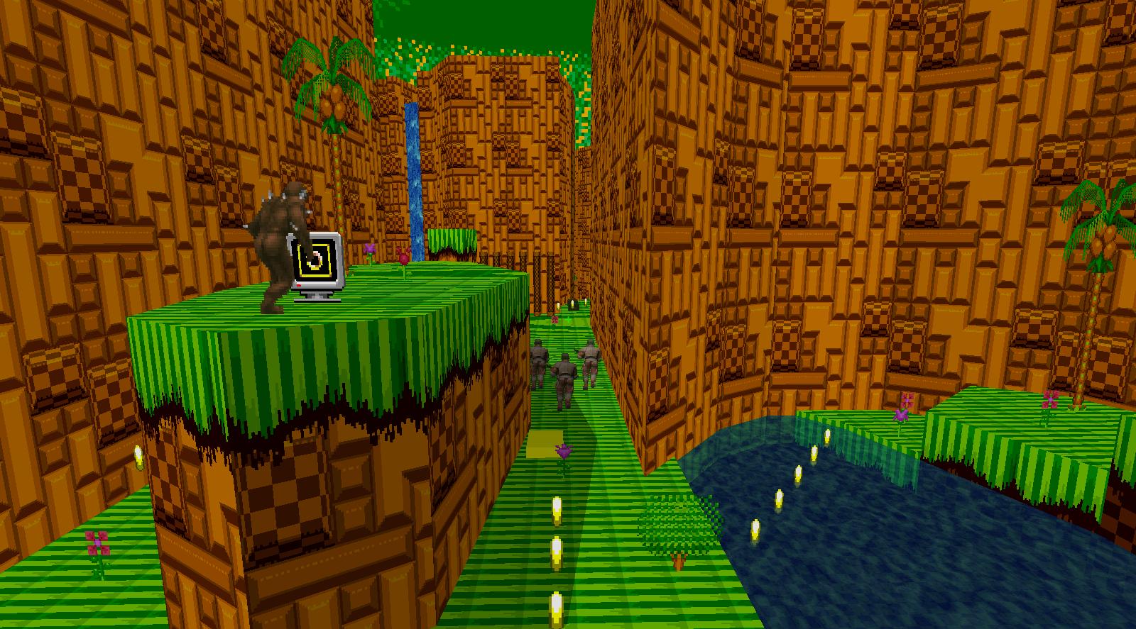 Emerald Hill Zone Image Sonic World Doom Mod For Doom Ii Mod Db